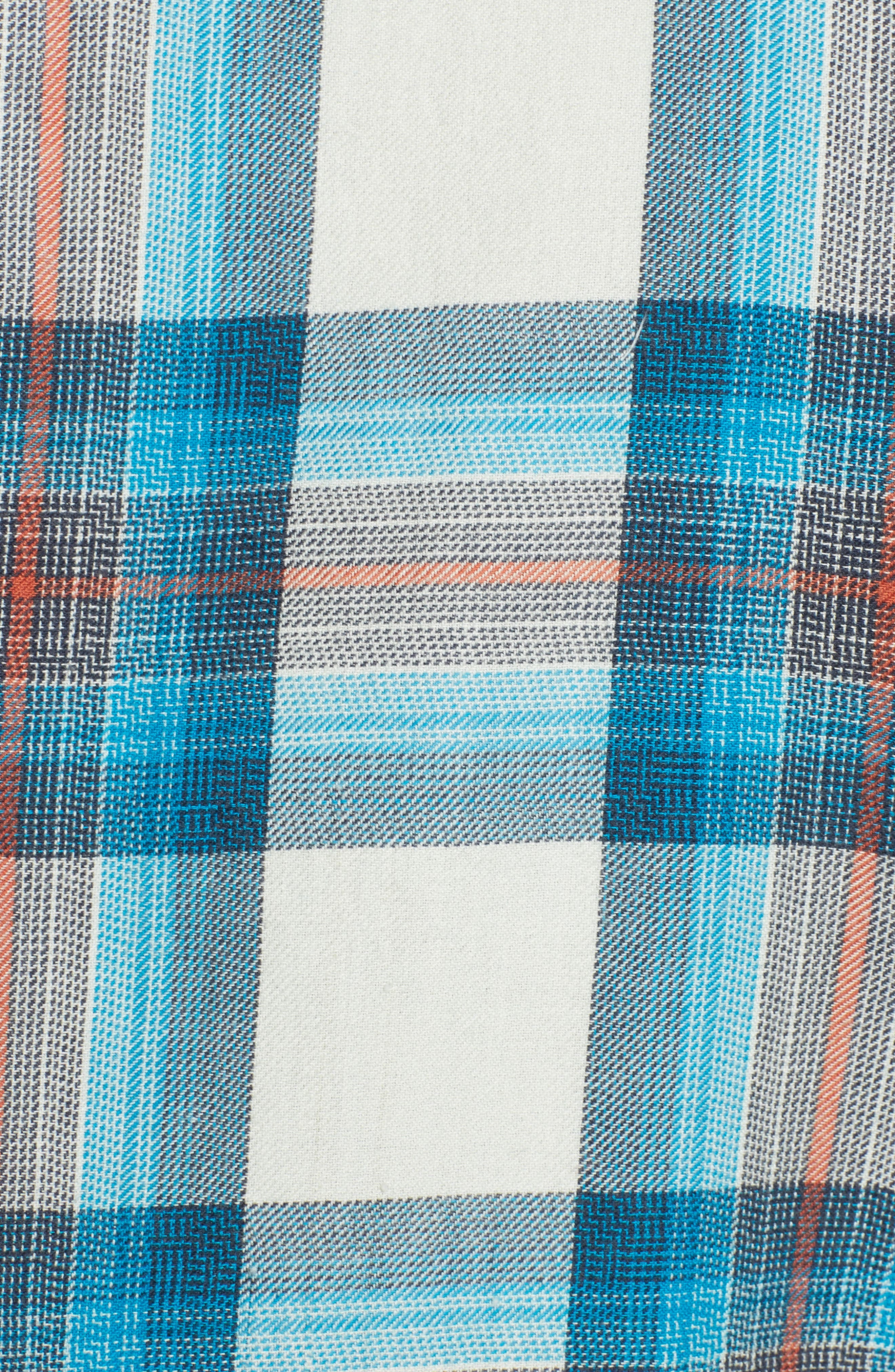 Freemont Flannel Shirt,                             Alternate thumbnail 5, color,                             020