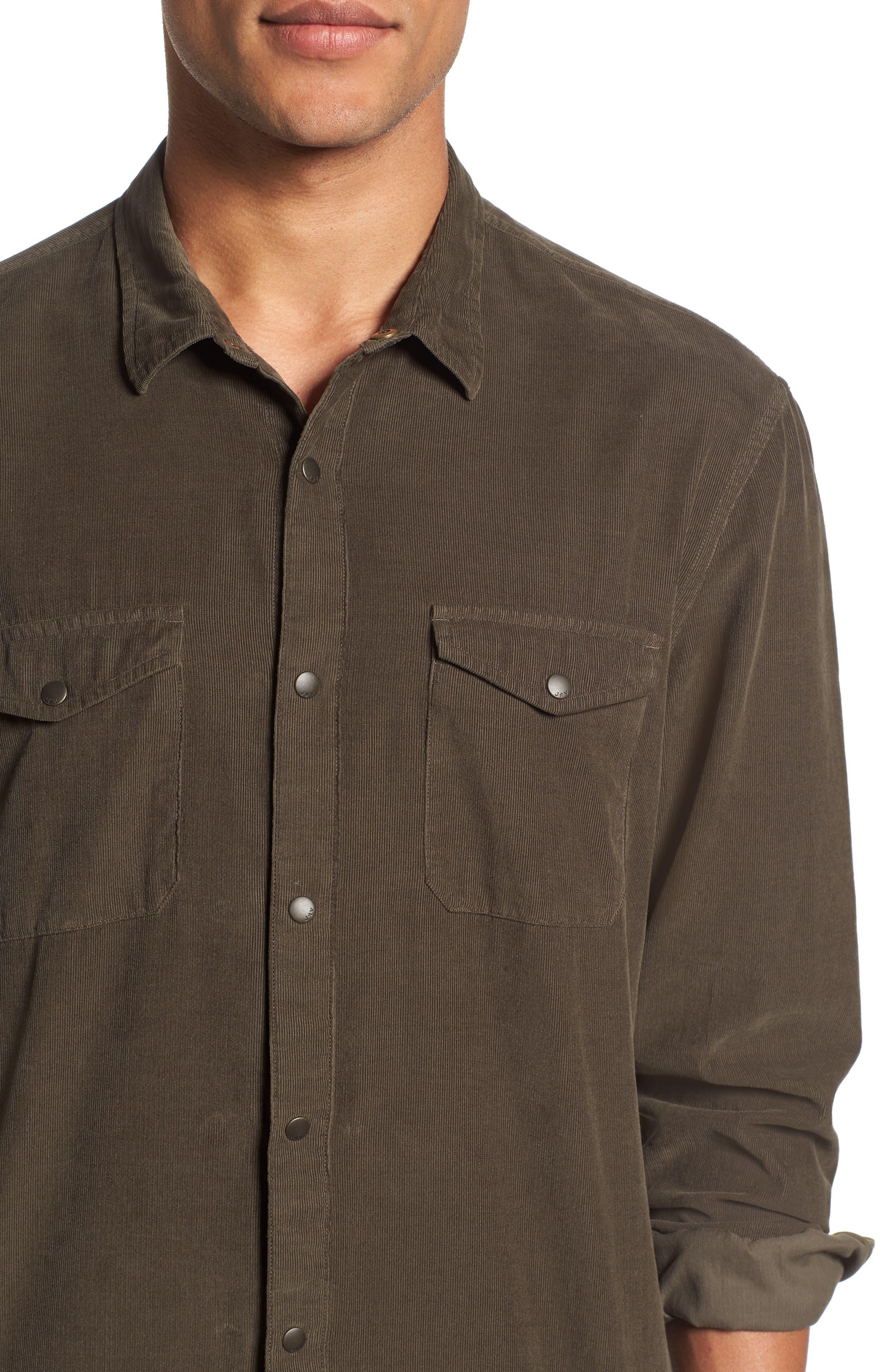 Corduroy Shirt,                             Alternate thumbnail 2, color,                             391