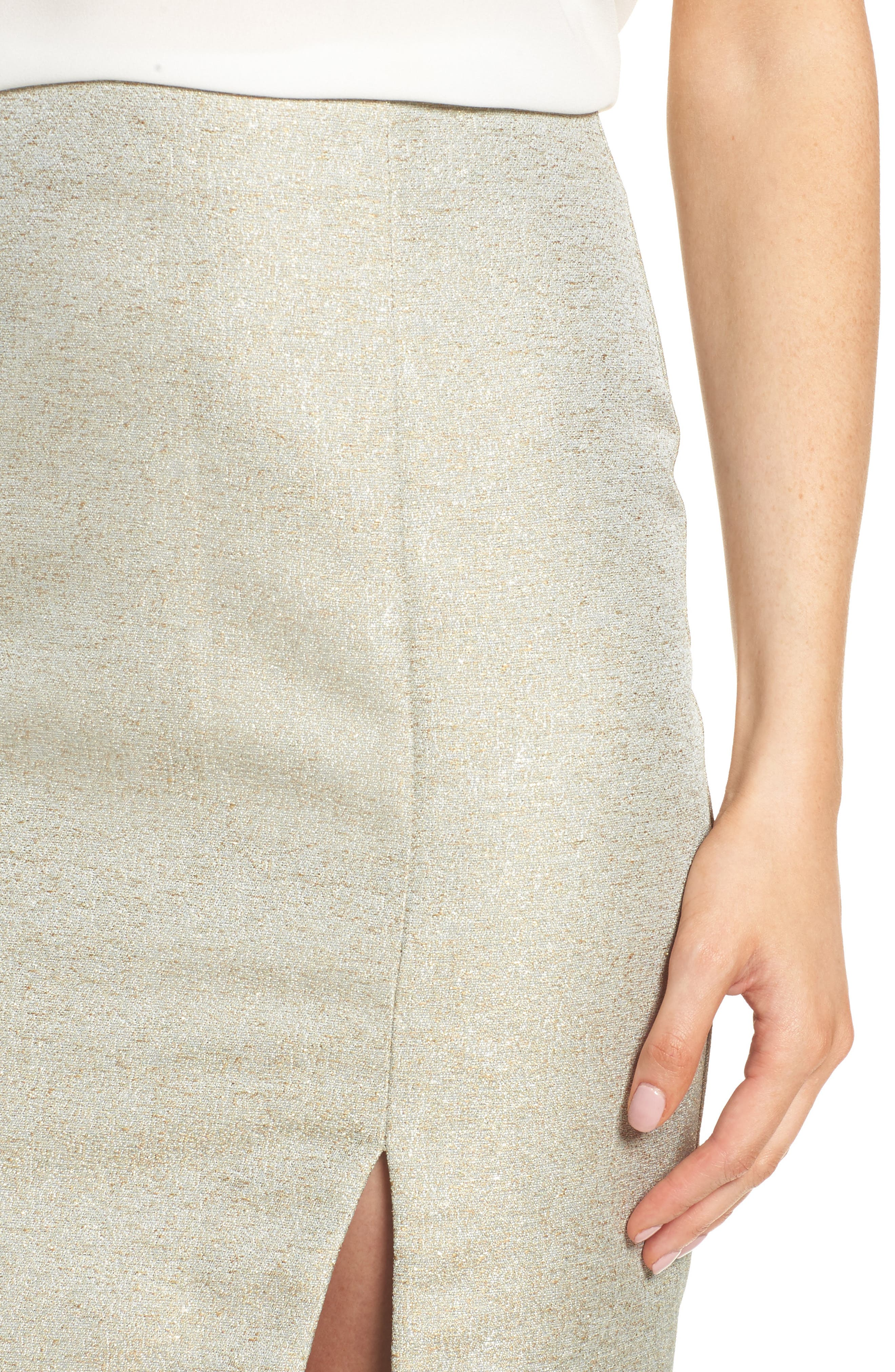 Valencia Midi Skirt,                             Alternate thumbnail 4, color,                             376