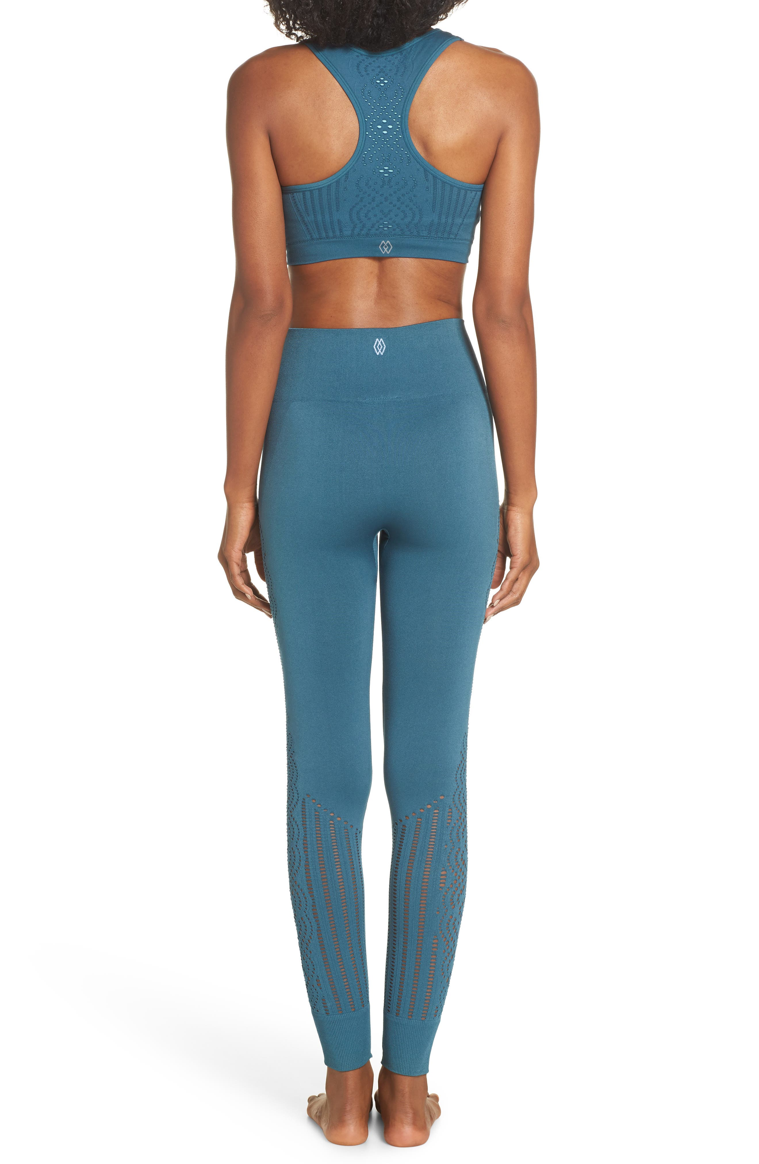 CLIMAWEAR,                             Hansa Sports Bra,                             Alternate thumbnail 8, color,                             NORTH SEA W/ AQUA HAZE