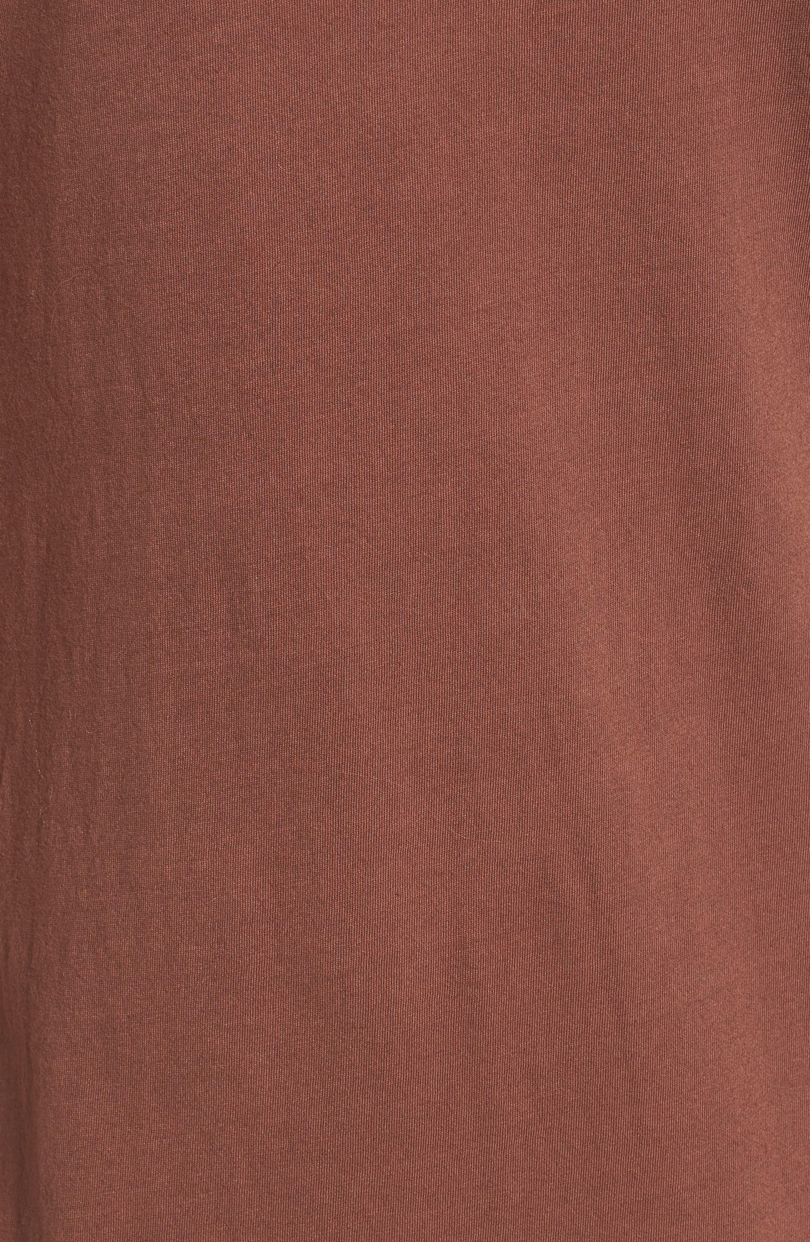 Alana Side Slit T-Shirt Dress,                             Alternate thumbnail 11, color,