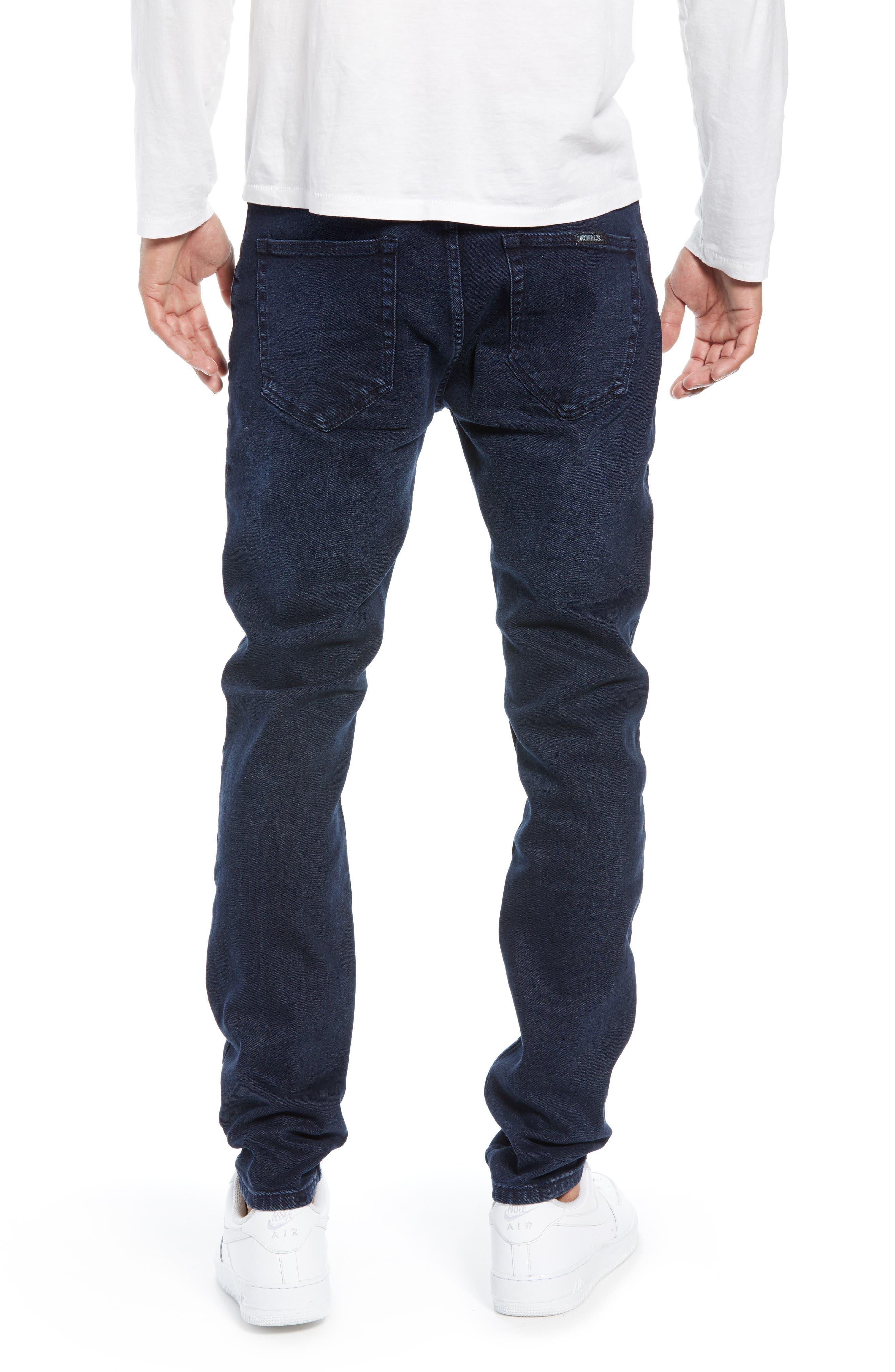 Stinger Skinny Fit Jeans,                             Alternate thumbnail 2, color,                             STONE FREE BLUE