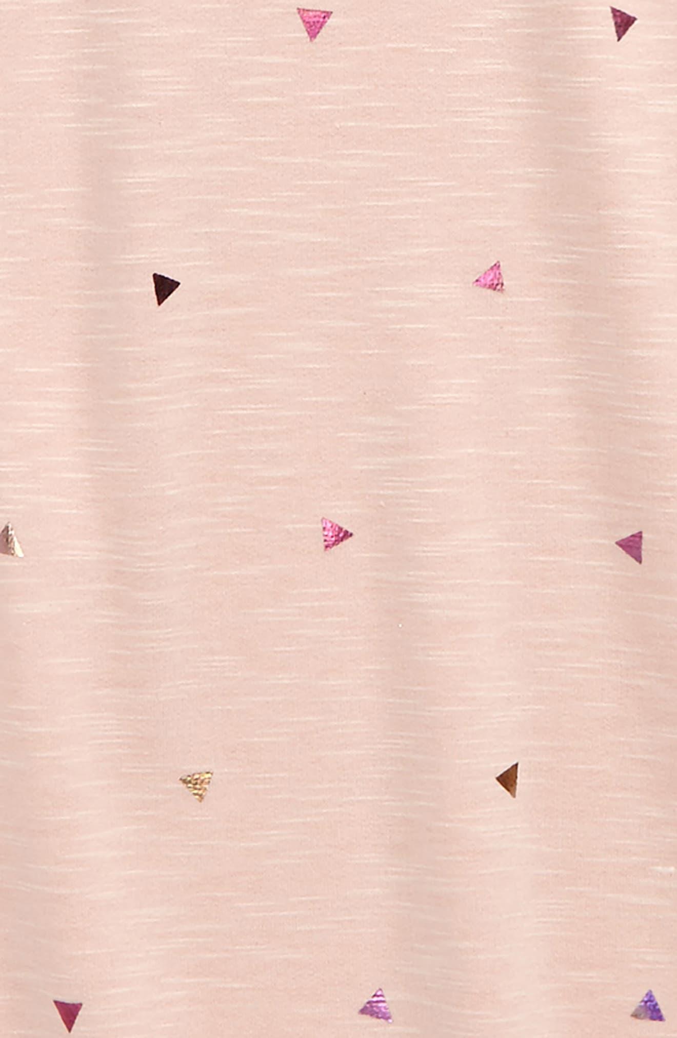 Foil Triangle Sweatshirt,                             Alternate thumbnail 2, color,                             650