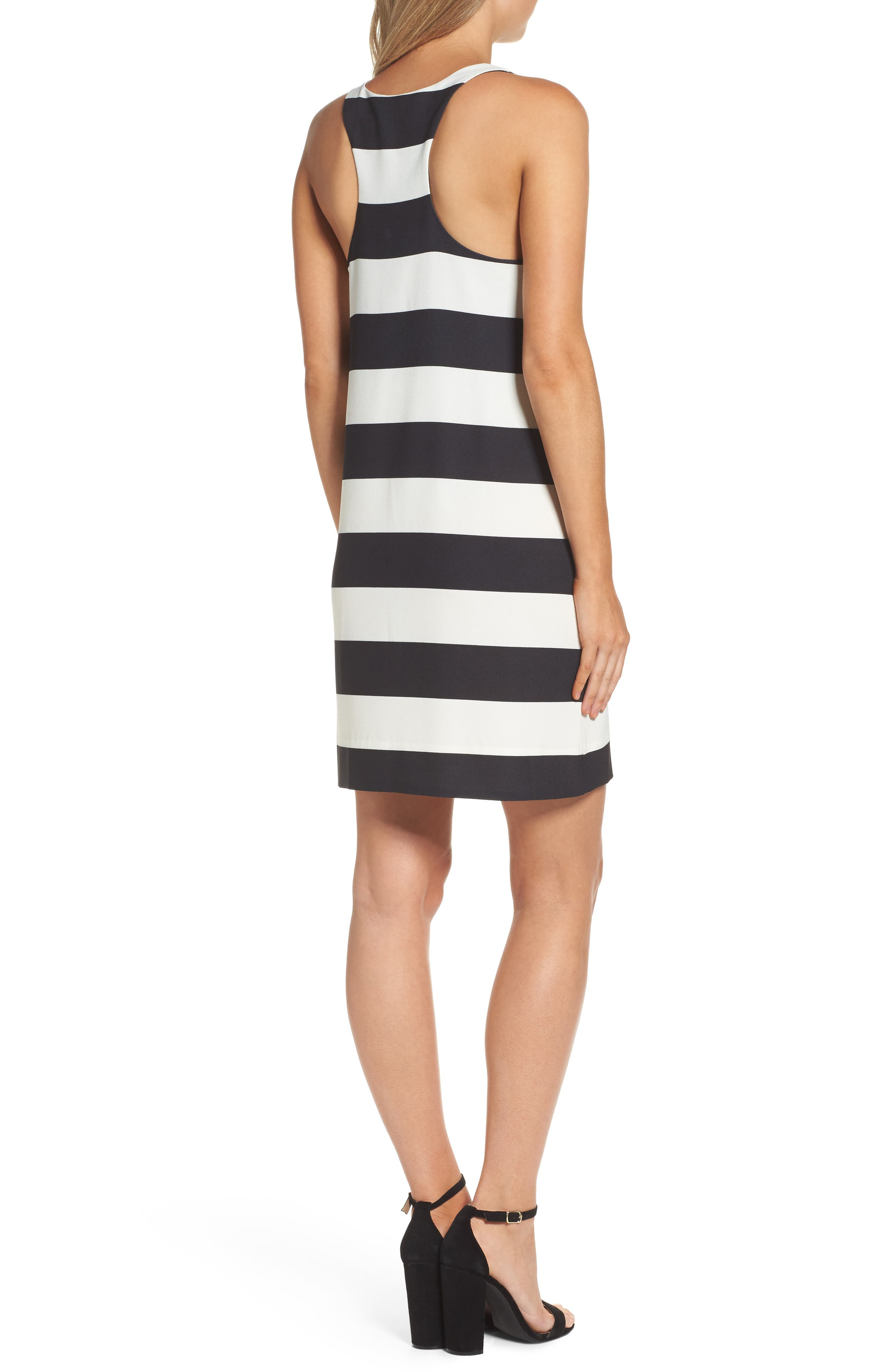 Sandy A-Line Dress,                             Alternate thumbnail 2, color,                             002