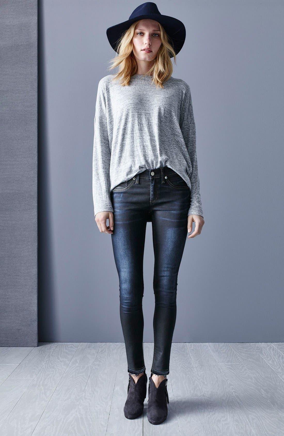 'The Skinny' Skinny Jeans,                             Alternate thumbnail 6, color,                             406