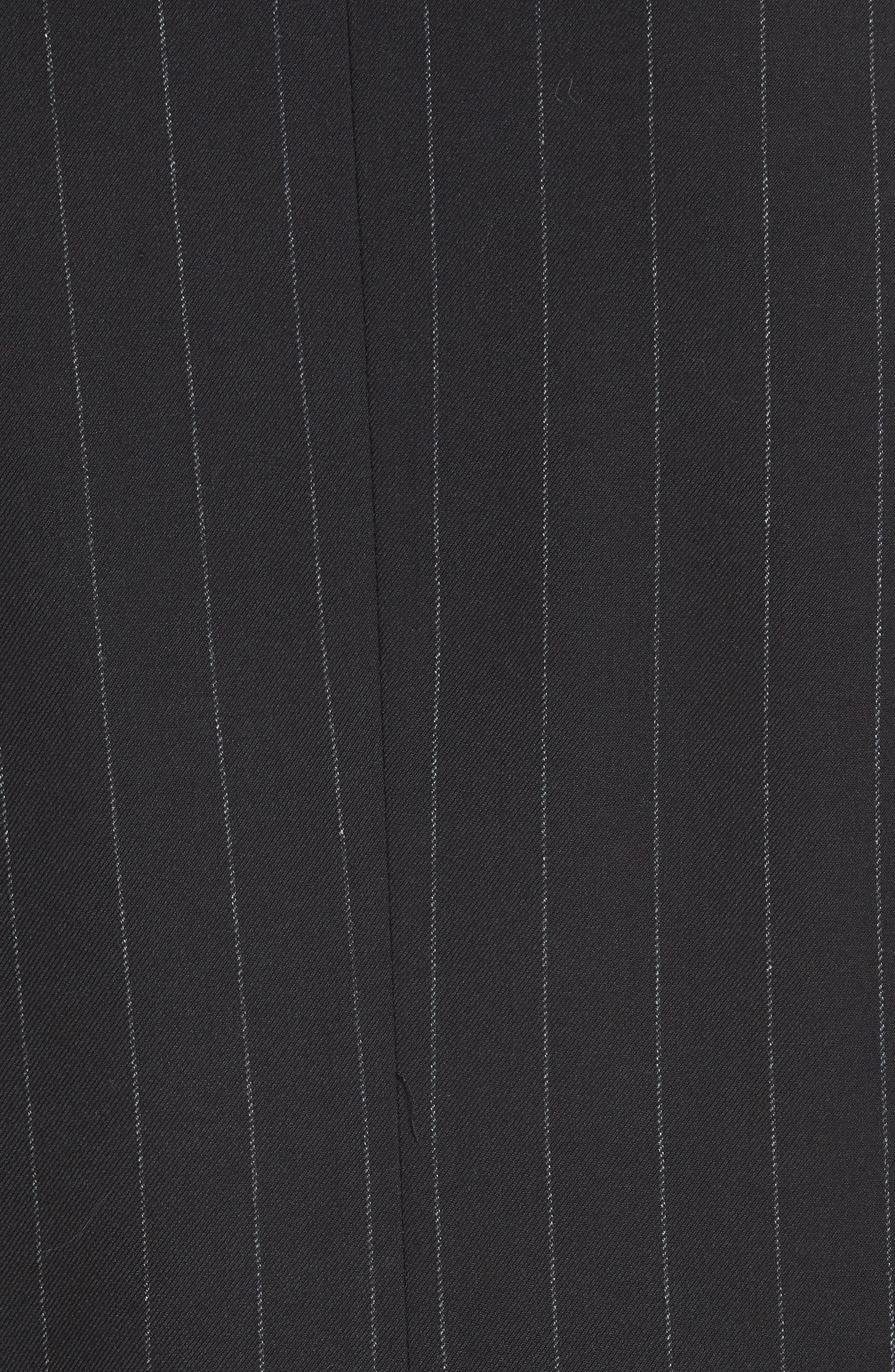 Bali Chalk Stripe Blazer,                             Alternate thumbnail 7, color,                             GREY