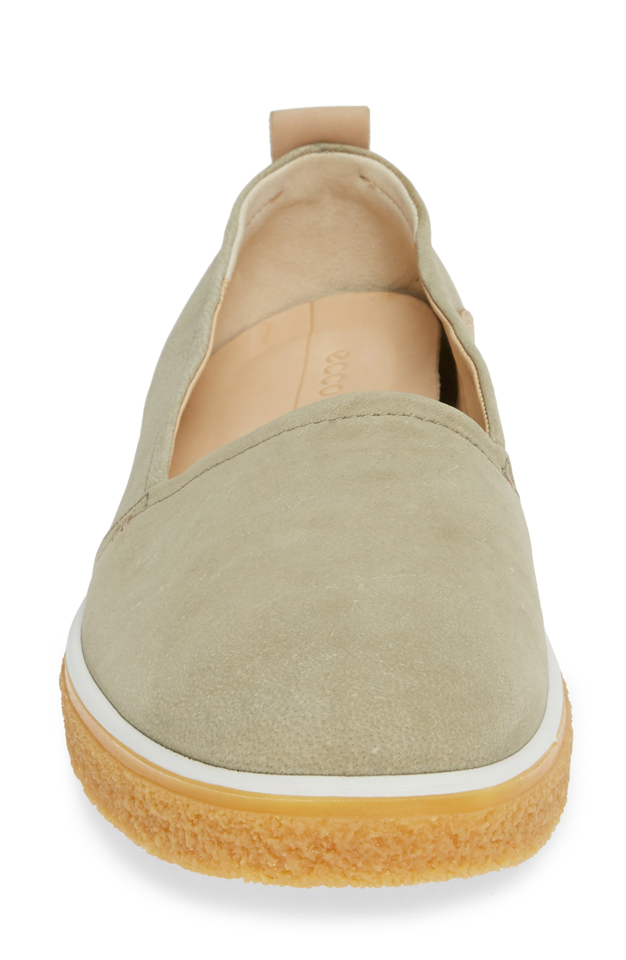 Crepetray Slip-On,                             Alternate thumbnail 4, color,                             SAGE LEATHER
