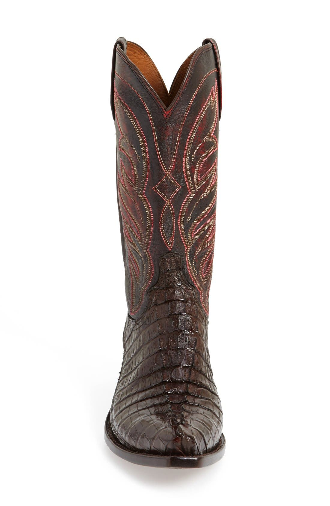 LUCCHESE,                             'Landon' Western Boot,                             Alternate thumbnail 4, color,                             214