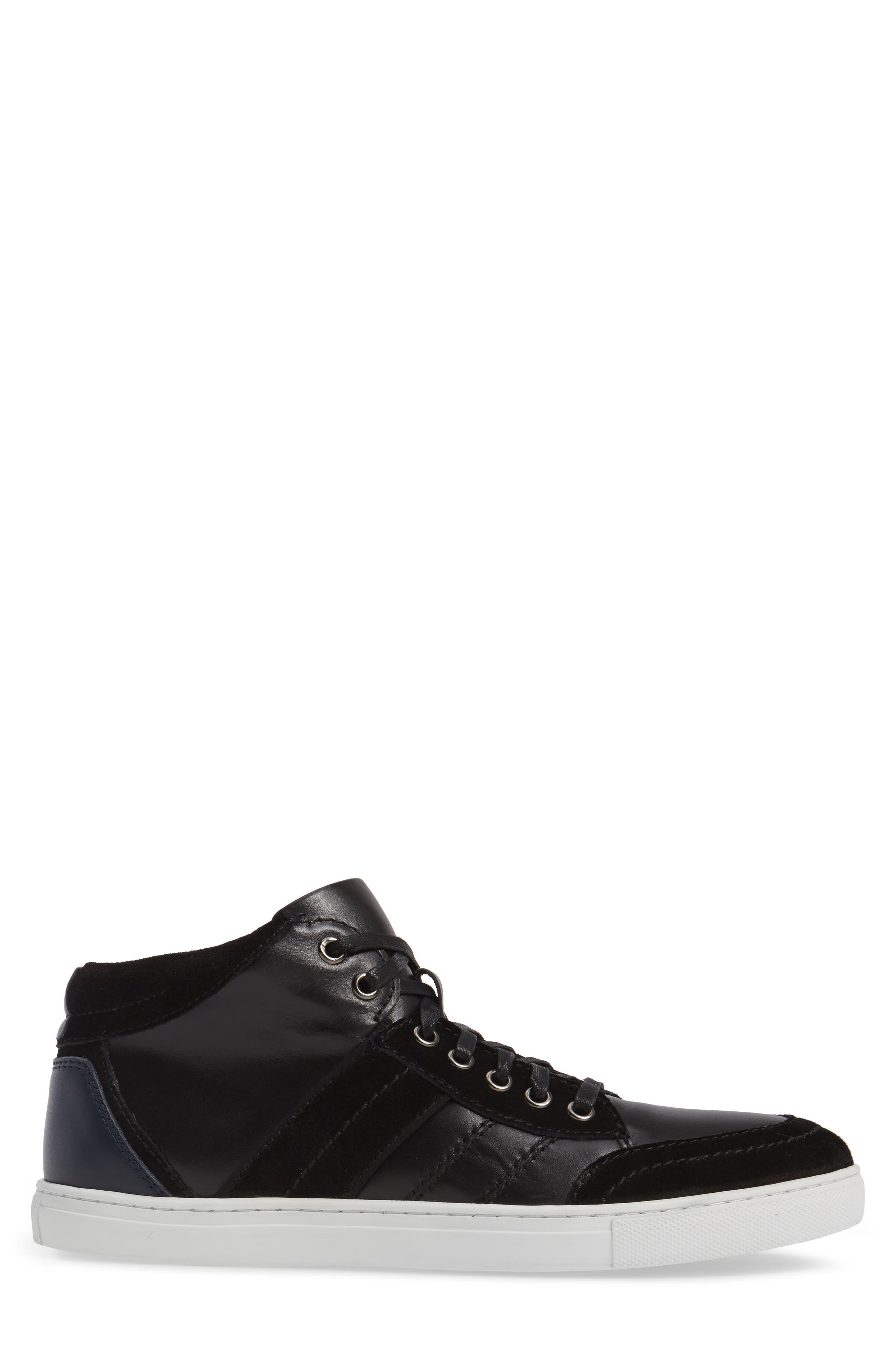 Viper Sneaker,                             Alternate thumbnail 3, color,                             BLACK