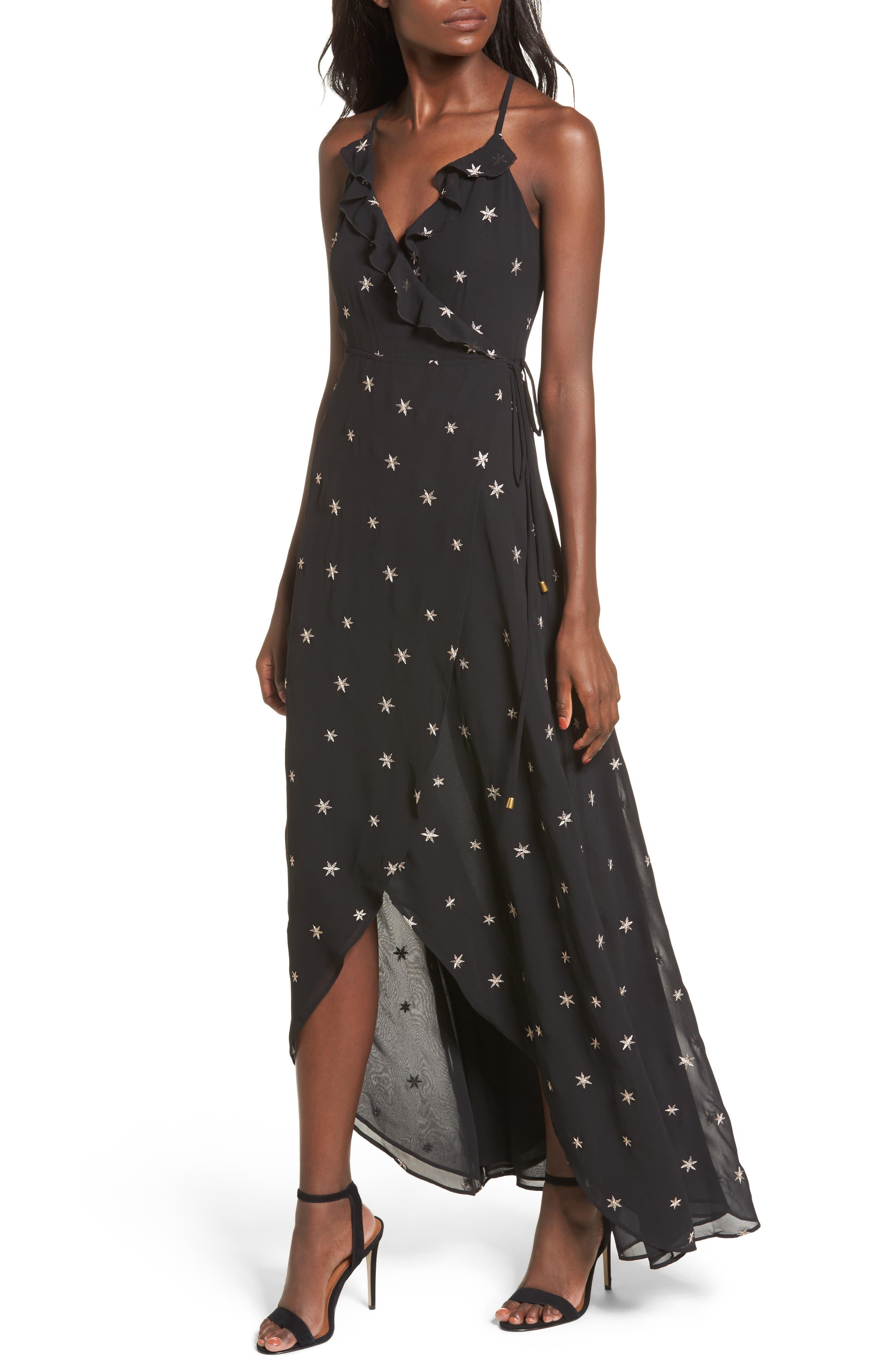 Nostalgia Maxi Dress,                         Main,                         color, 001