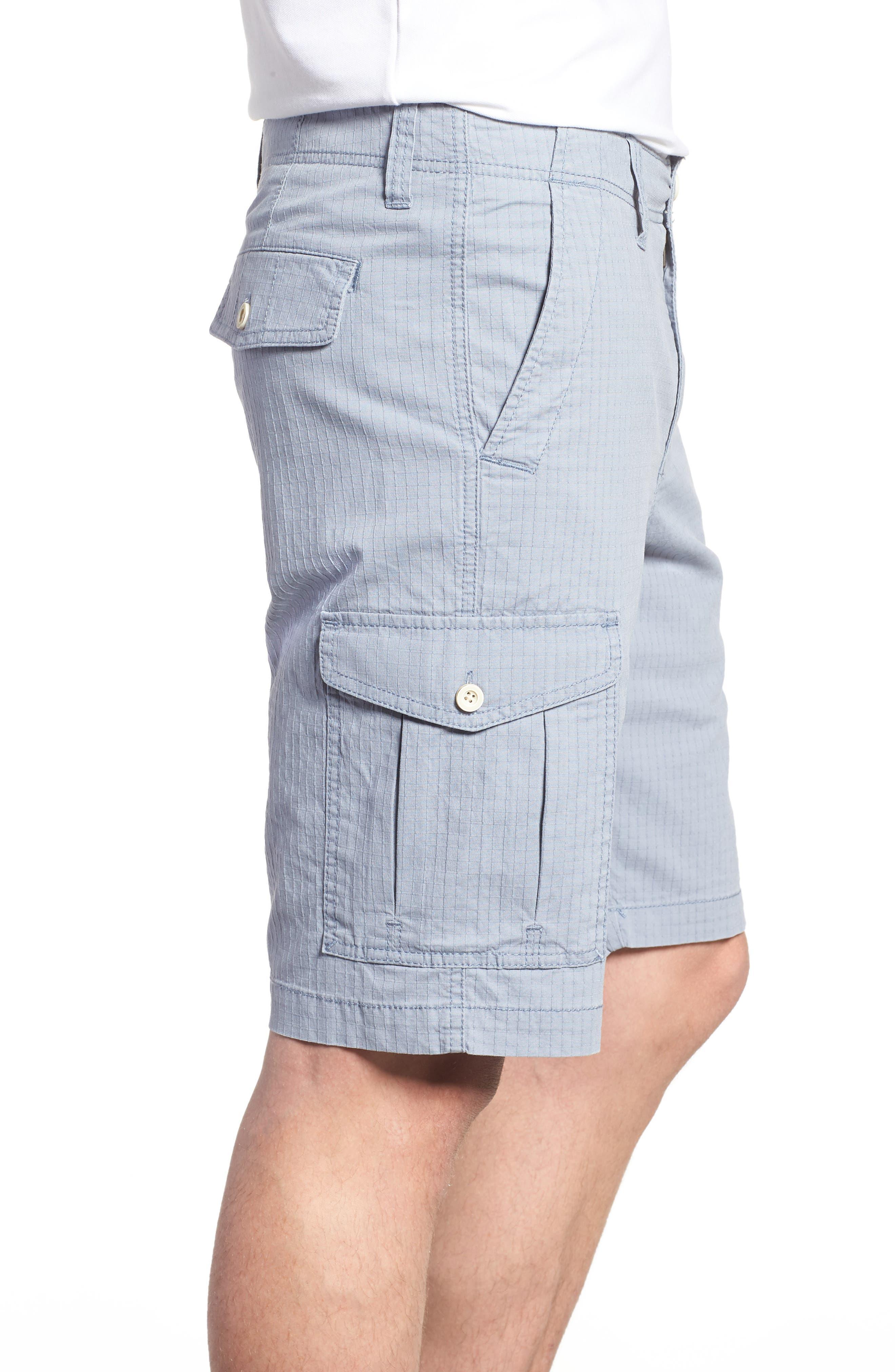 Sandbar Ripstop Cargo Shorts,                             Alternate thumbnail 3, color,                             401
