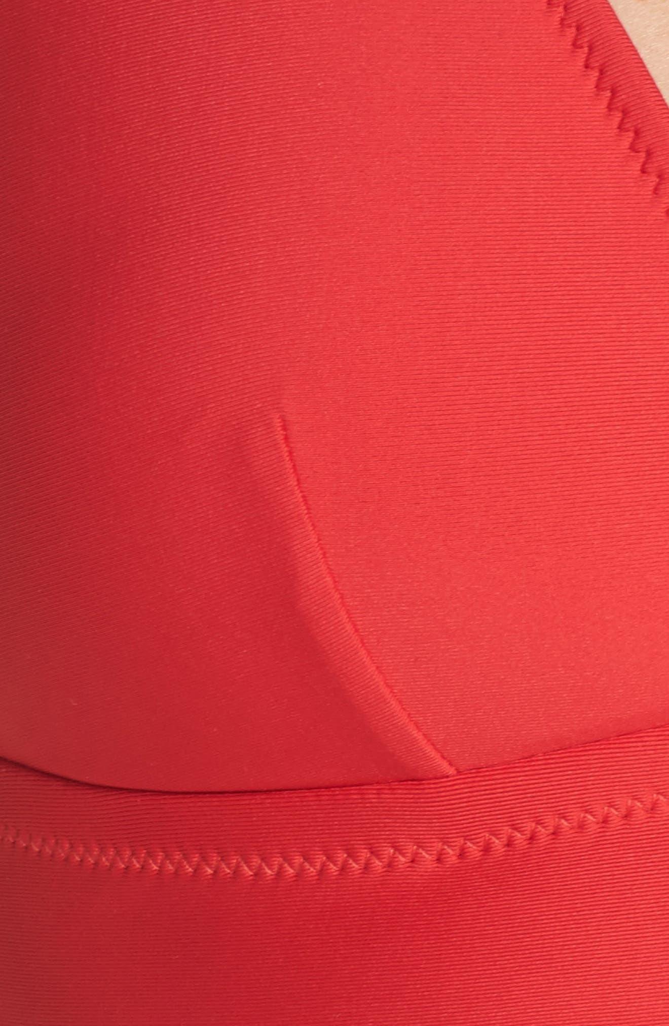Farrah Triangle Bikini Top,                             Alternate thumbnail 15, color,
