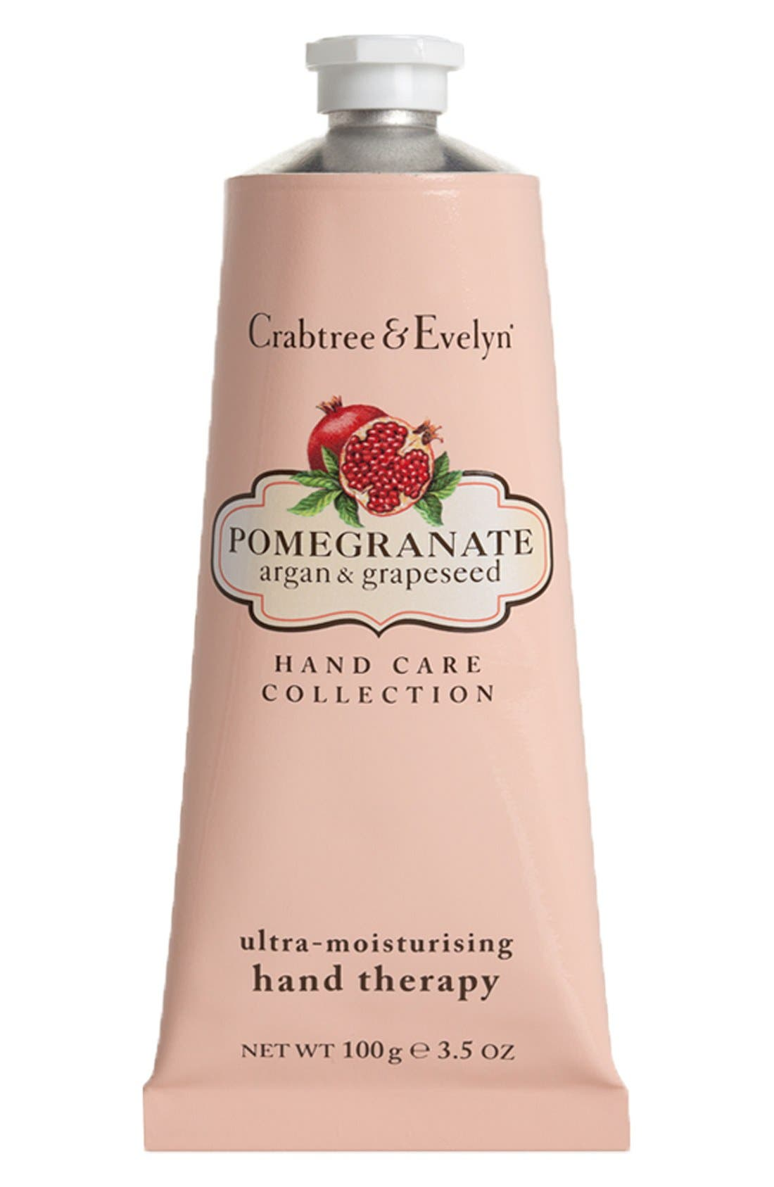 'Pomegranate, Argan & Grapeseed Oil' Ultra-Moisturising Hand Therapy,                             Main thumbnail 1, color,                             000