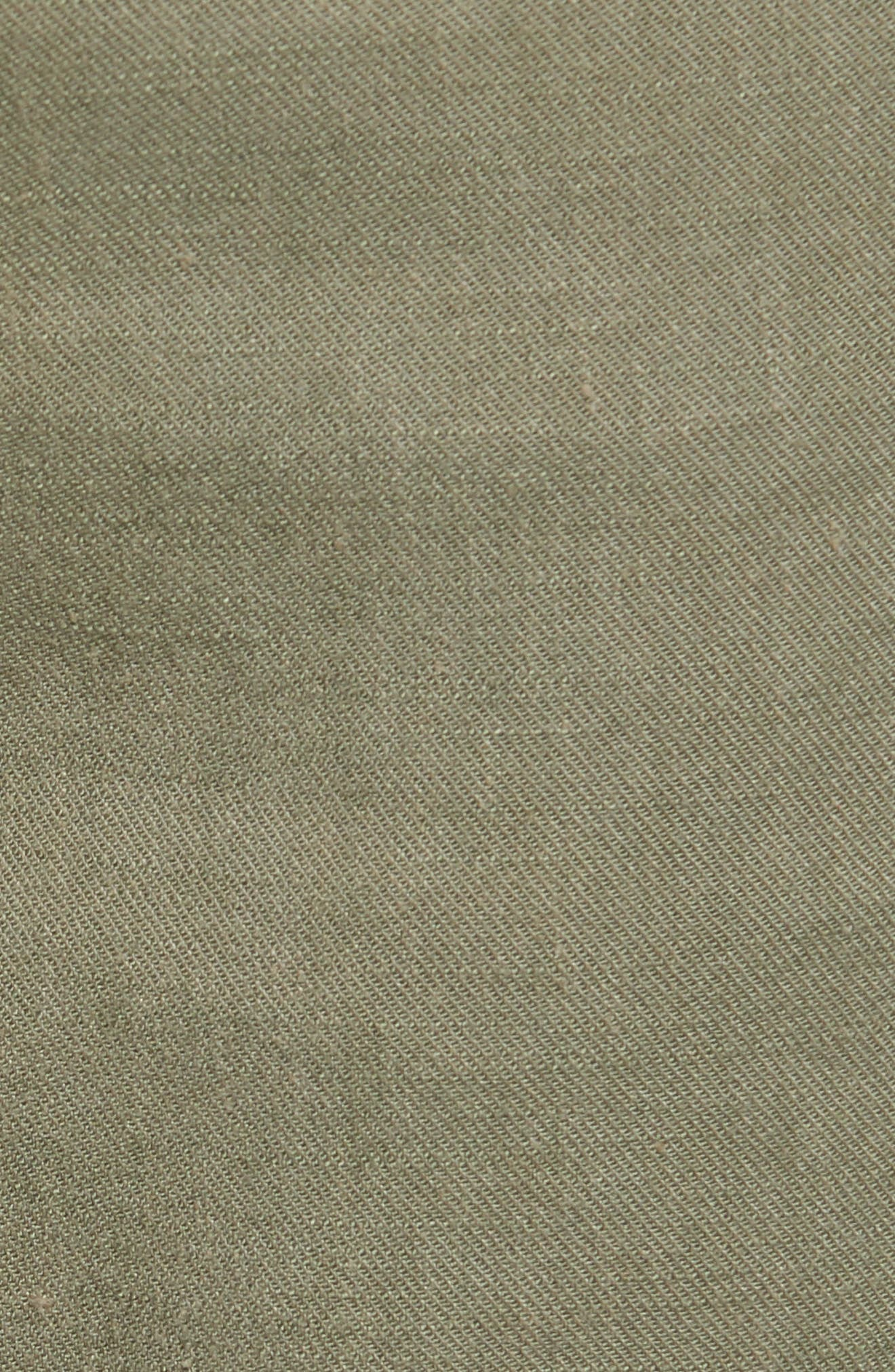 Stretch Linen Blend Bermuda Shorts,                             Alternate thumbnail 15, color,