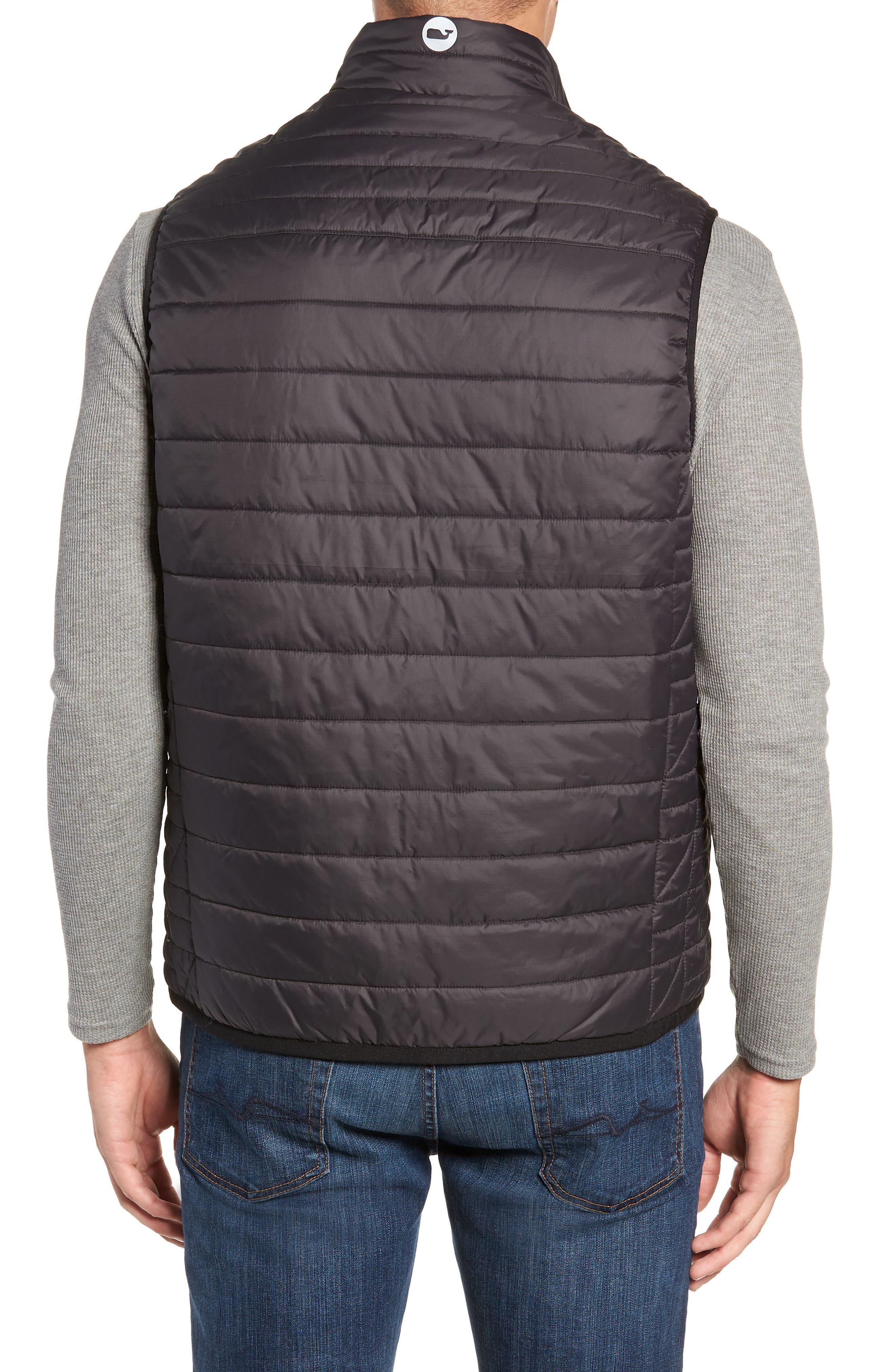 VINEYARD VINES,                             Regular Fit Down Mountain Vest,                             Alternate thumbnail 2, color,                             002