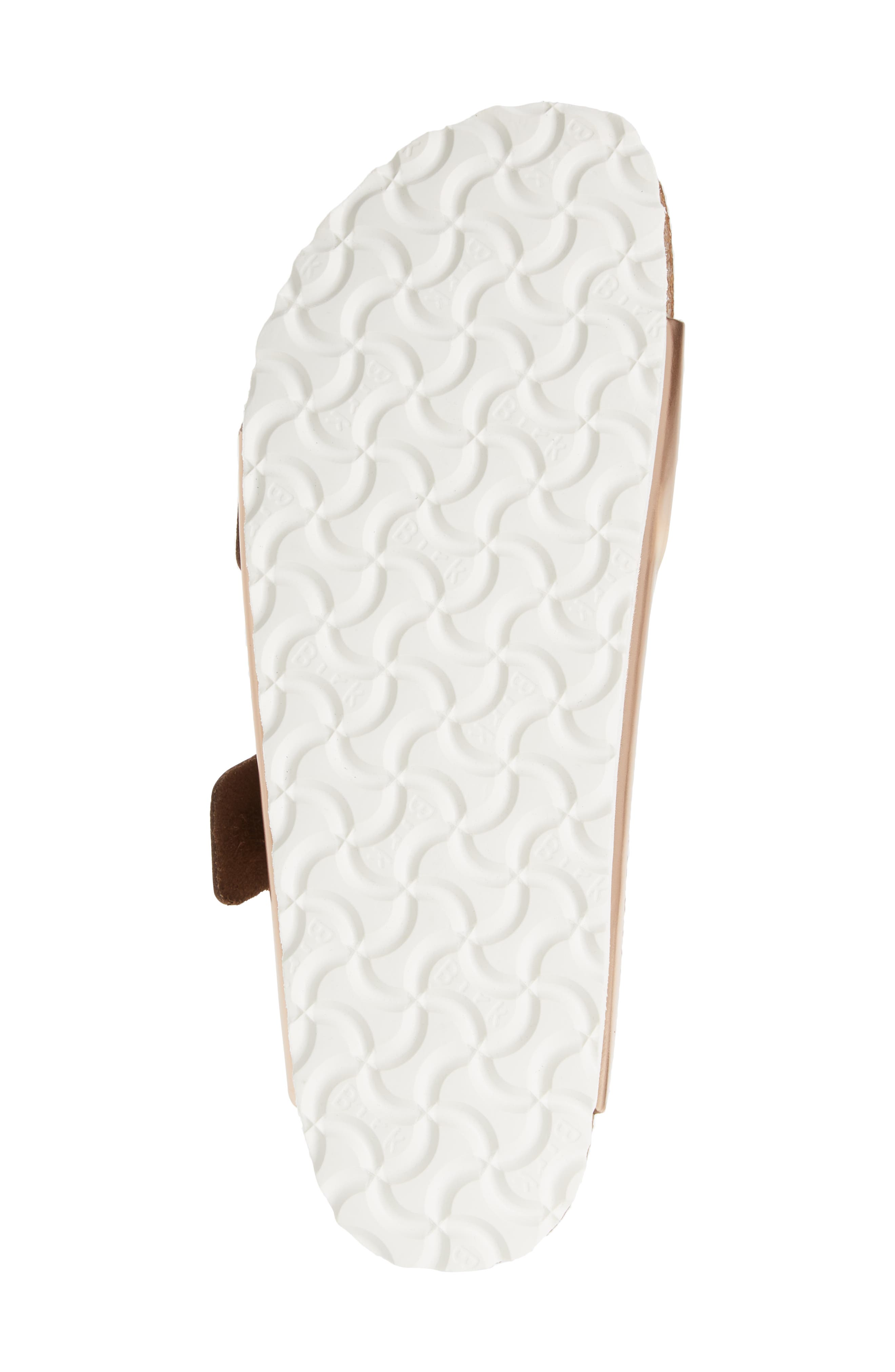 Arizona Soft Footbed Sandal,                             Alternate thumbnail 6, color,                             COPPER LEATHER
