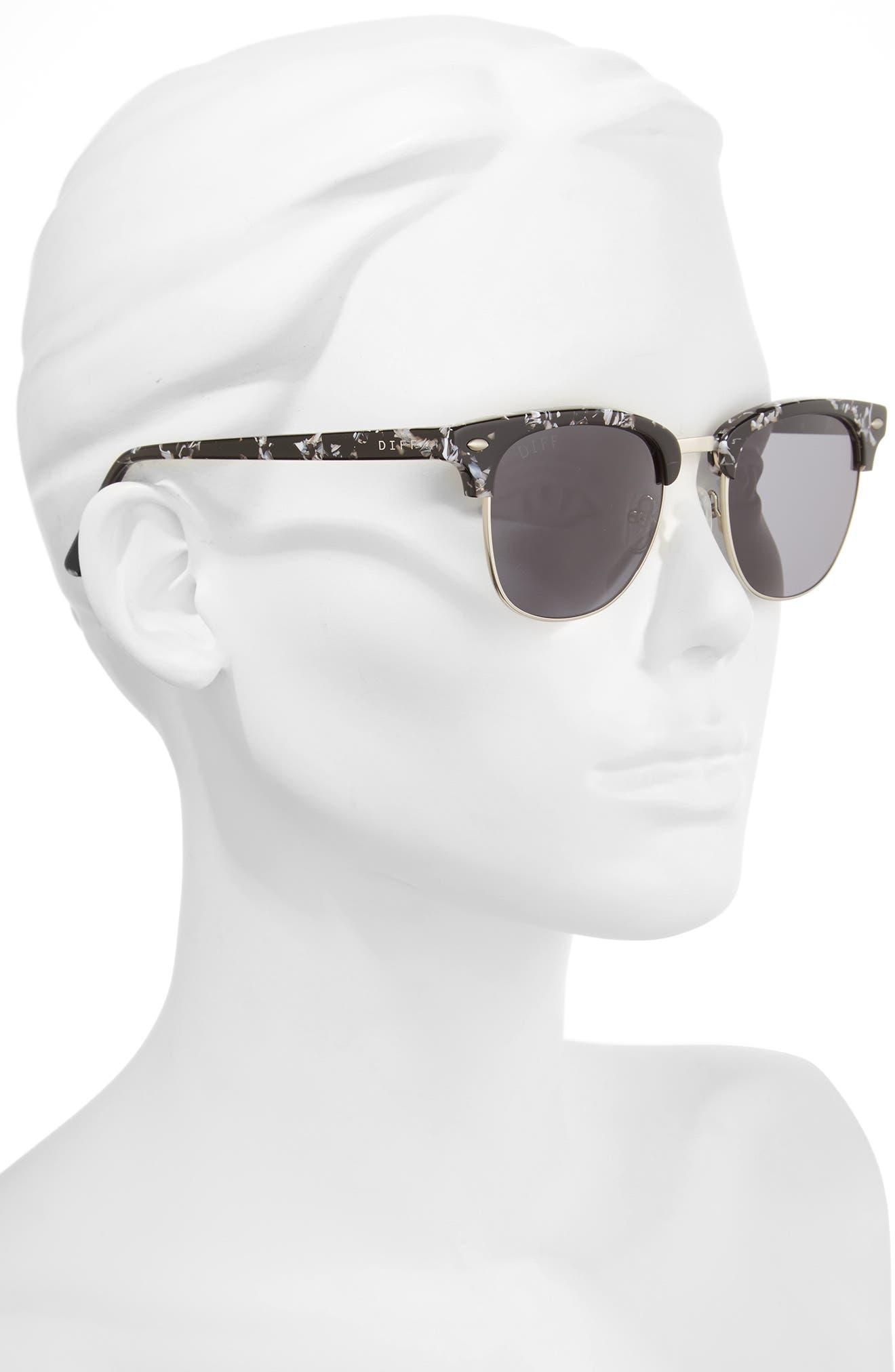 Barry 51mm Polarized Retro Sunglasses,                             Alternate thumbnail 9, color,