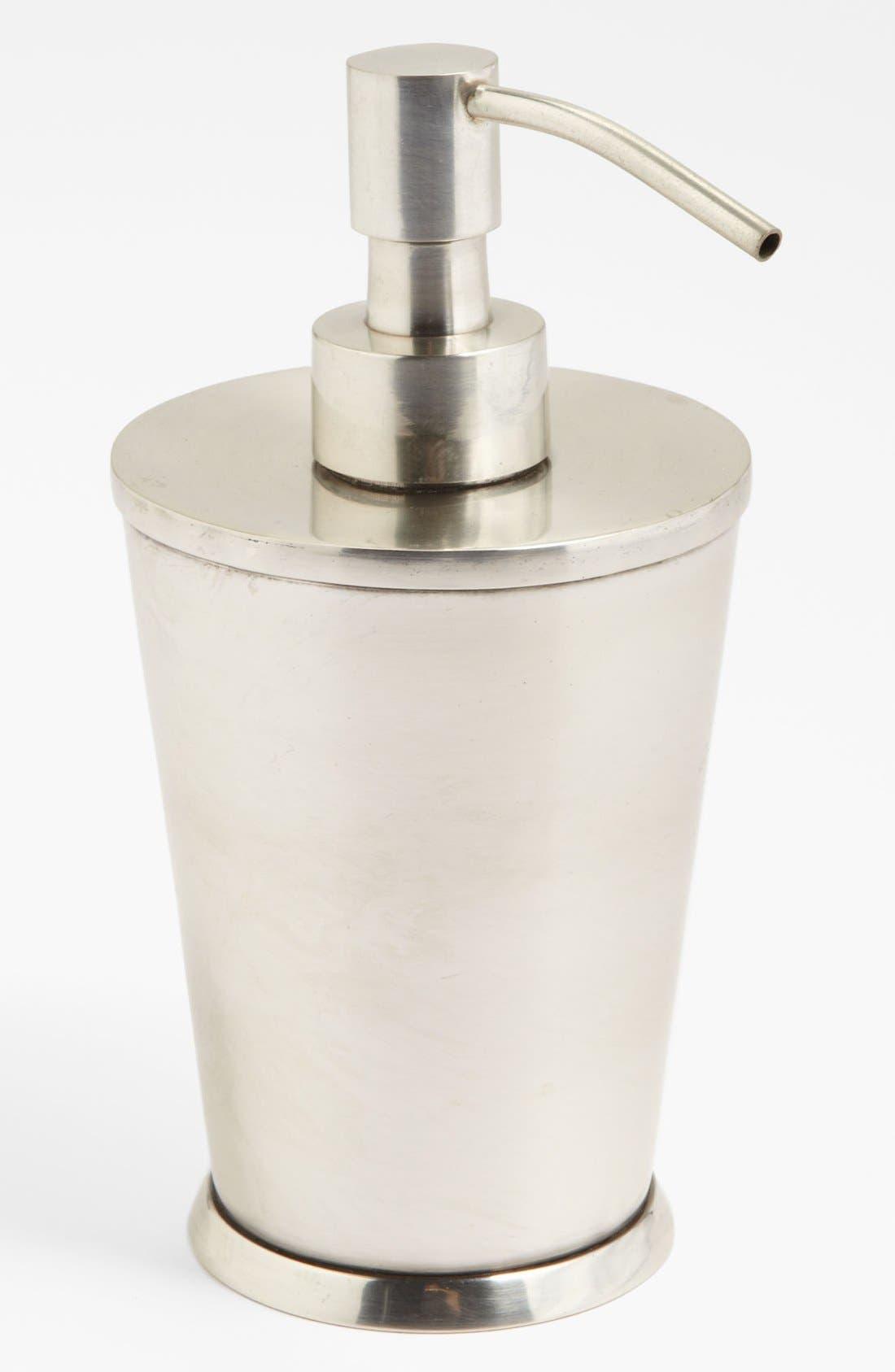 Studio 'Wallingford' Soap Dispenser,                             Main thumbnail 1, color,                             NICKEL