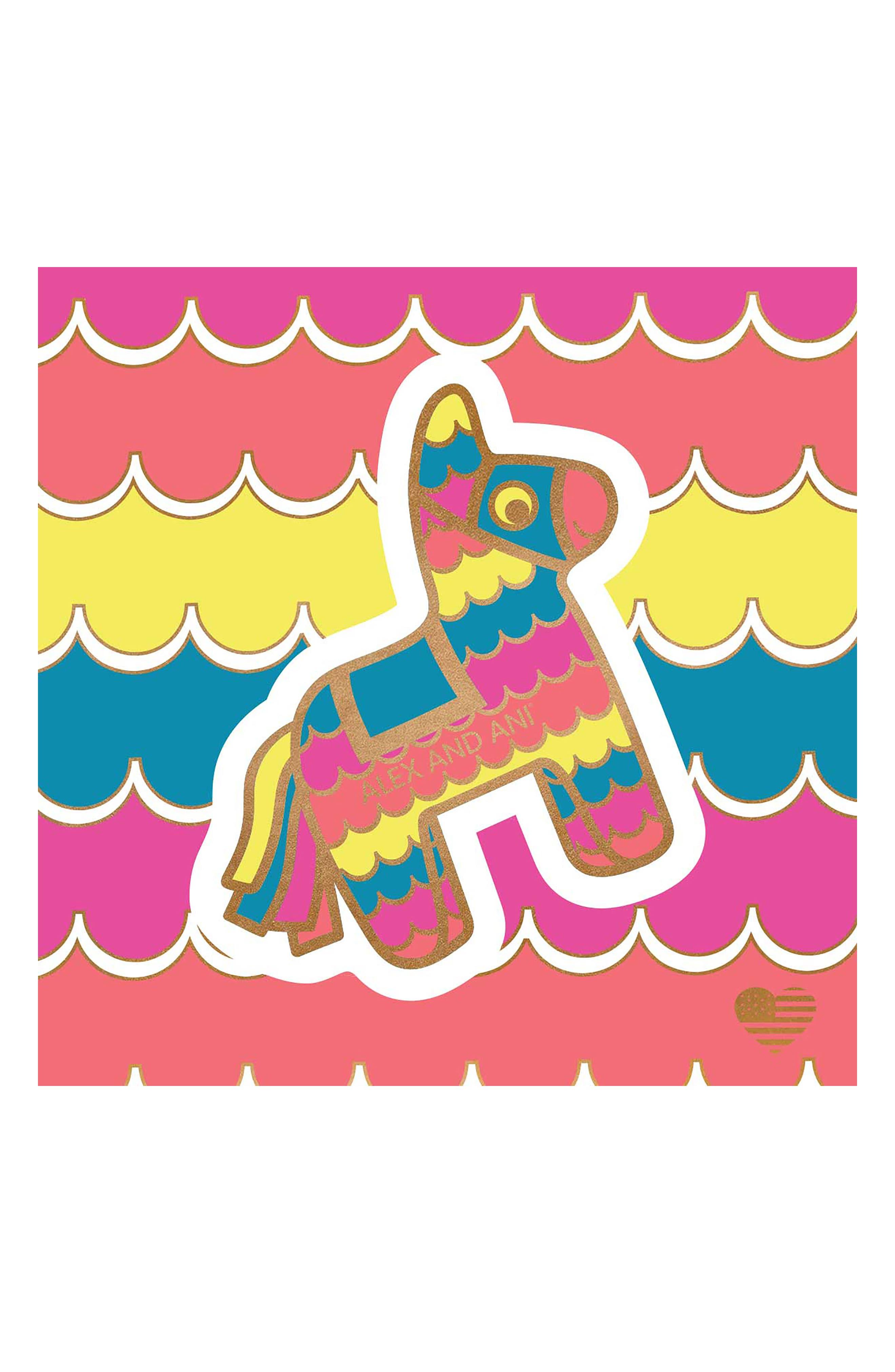 Piñata Charm Bangle,                             Alternate thumbnail 3, color,                             710