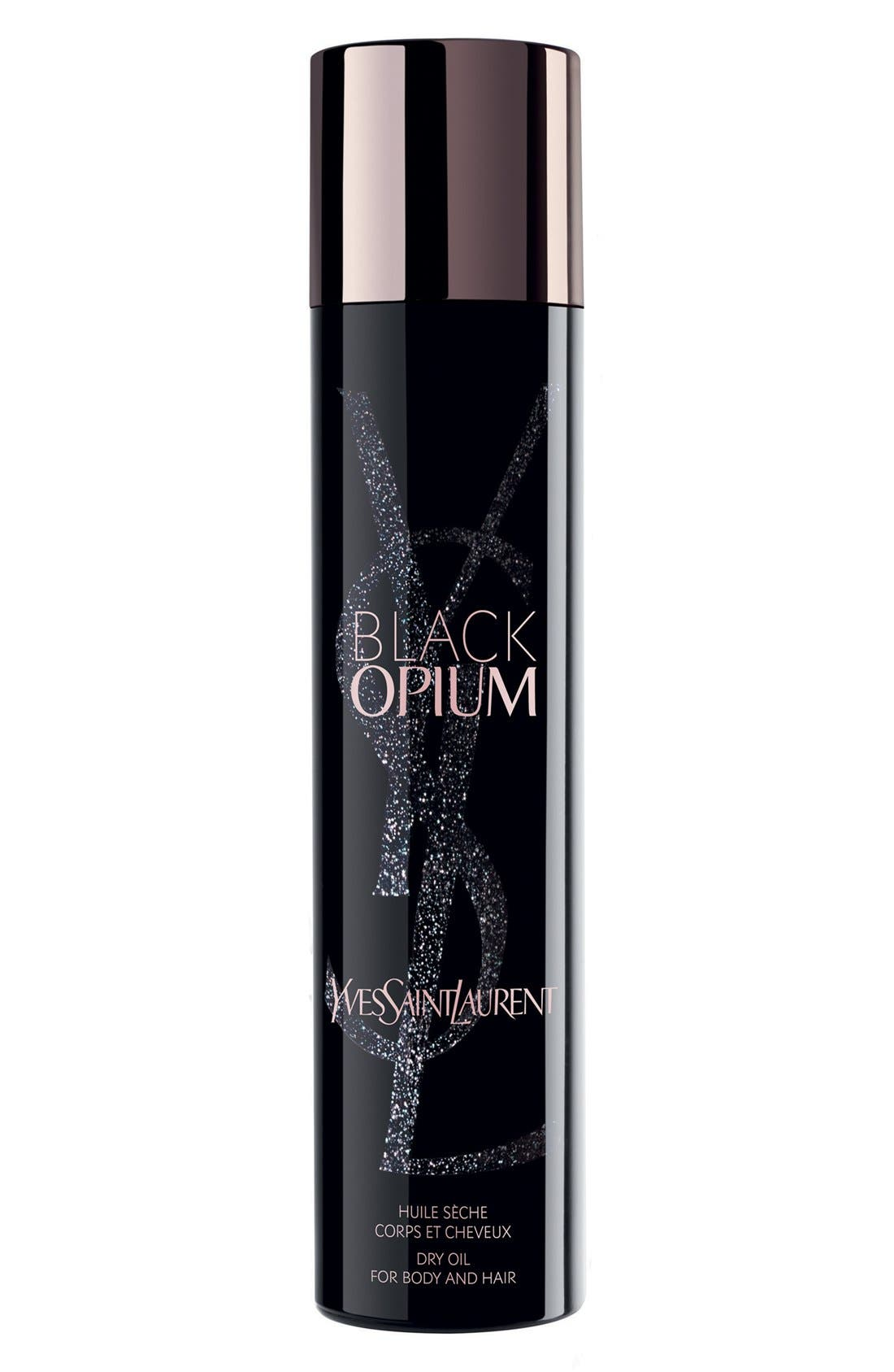 Black Opium Dry Oil for Body and Hair,                             Main thumbnail 1, color,                             NO COLOR