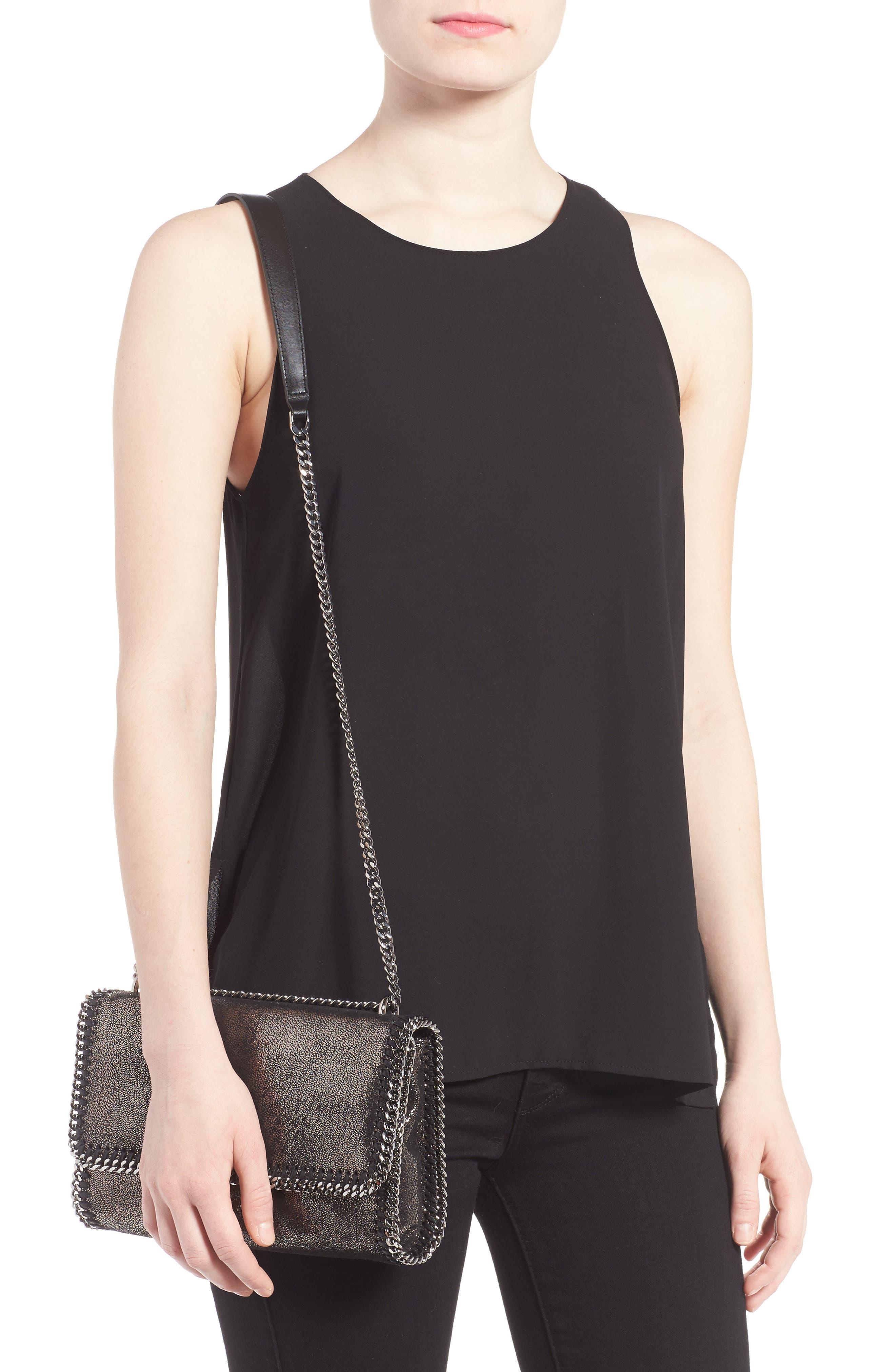 Faux Leather Flap Shoulder Bag,                             Alternate thumbnail 2, color,                             041