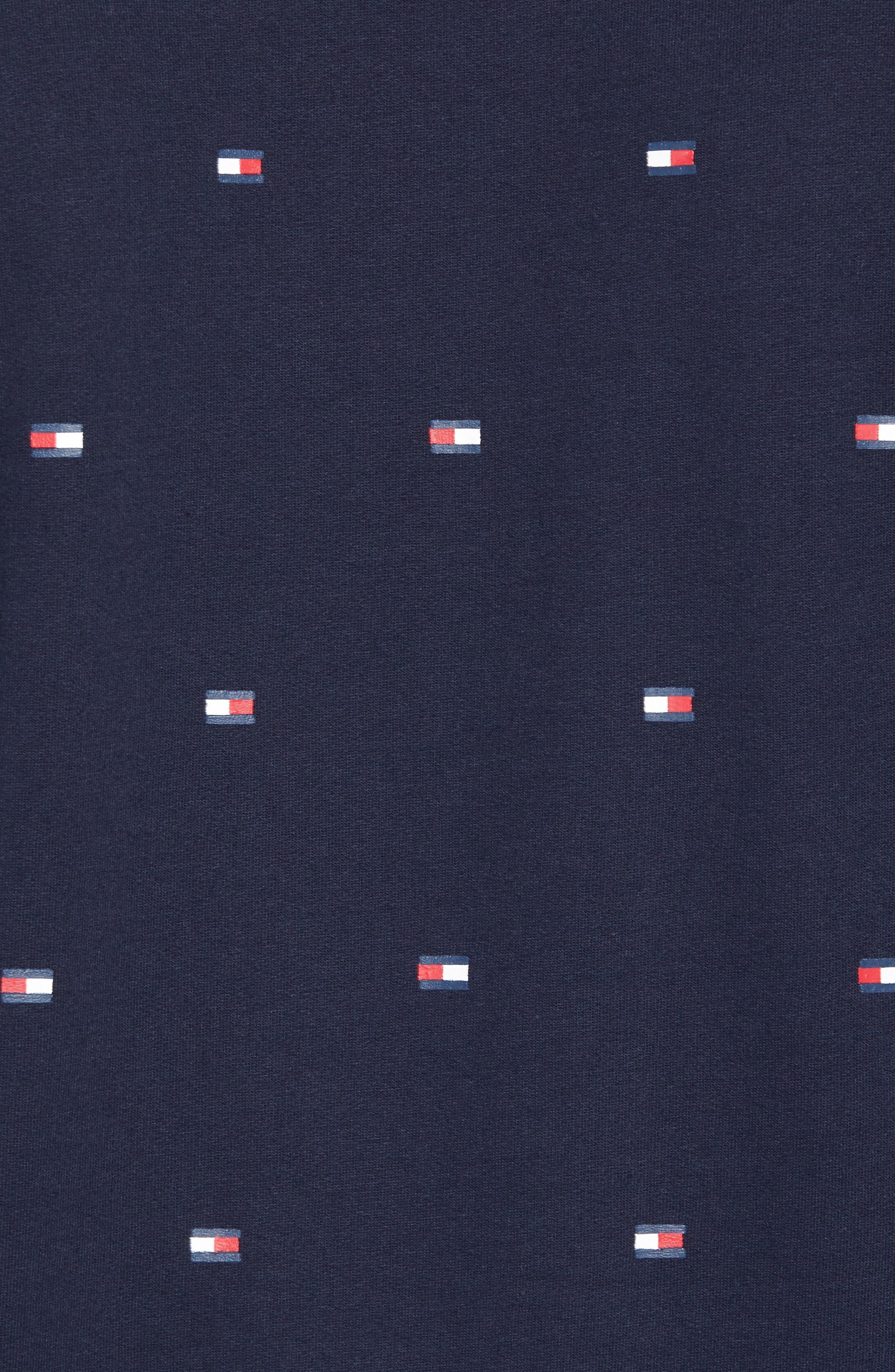 Flag Sweatshirt,                             Alternate thumbnail 5, color,                             410