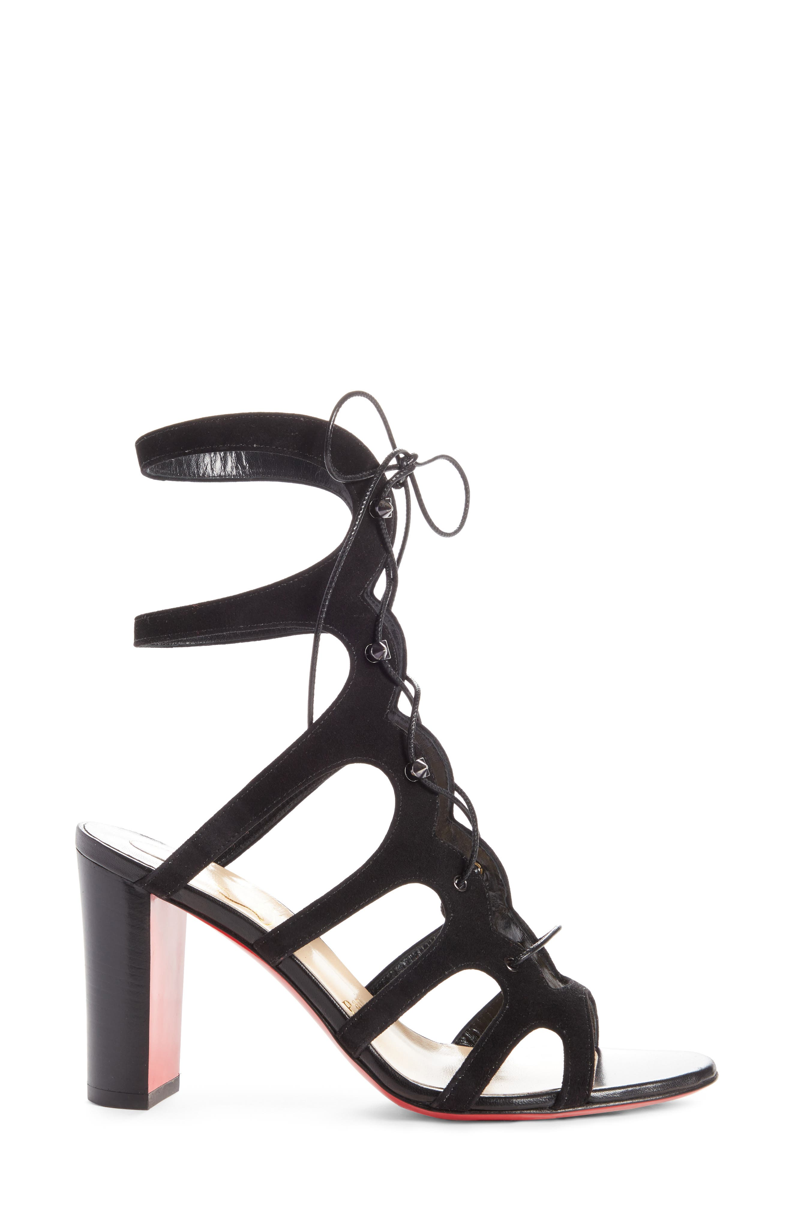 Amazoudur SD Cage Sandal,                             Alternate thumbnail 5, color,