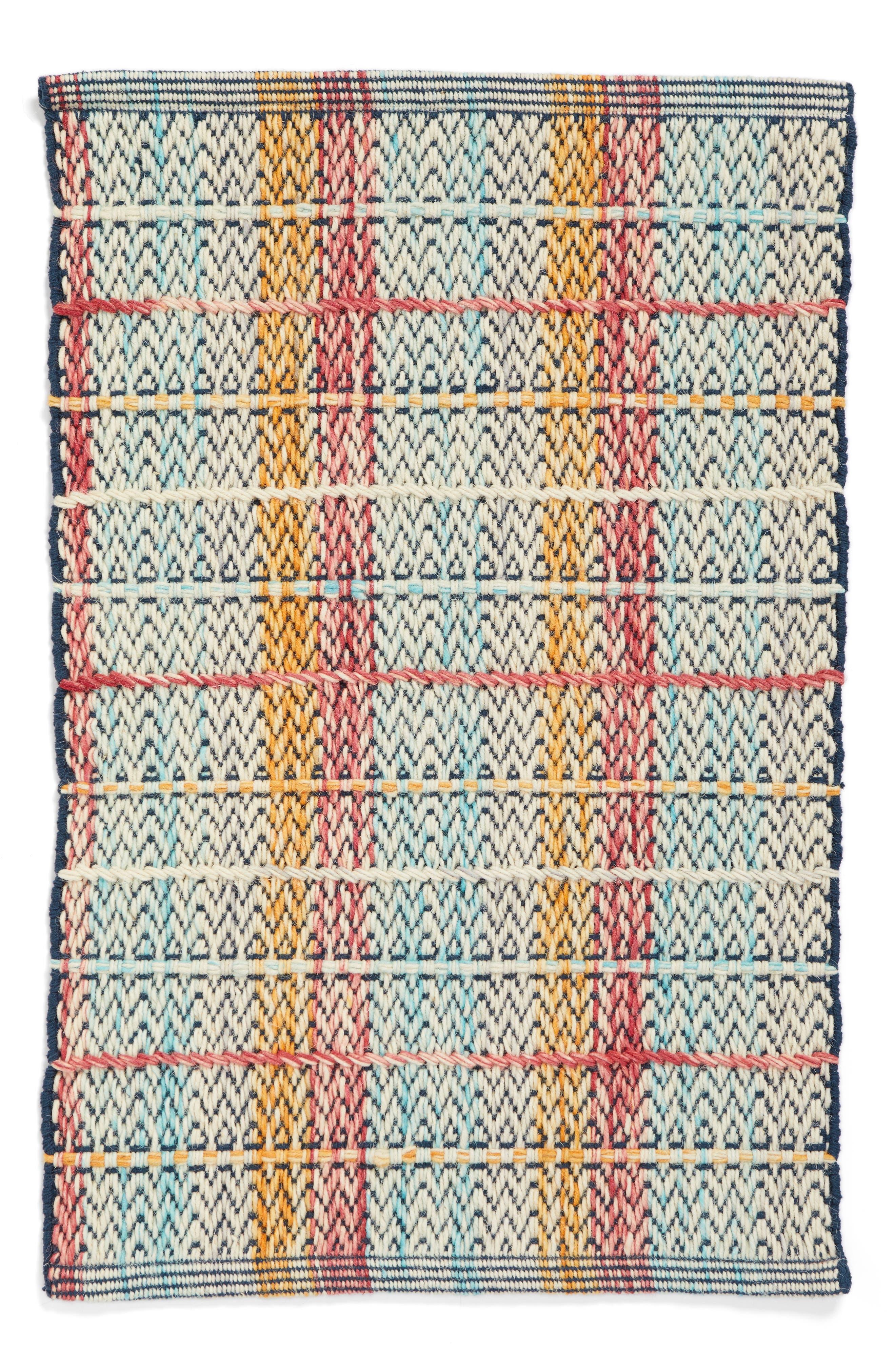 Stripe Handwoven Area Rug,                             Main thumbnail 1, color,                             900