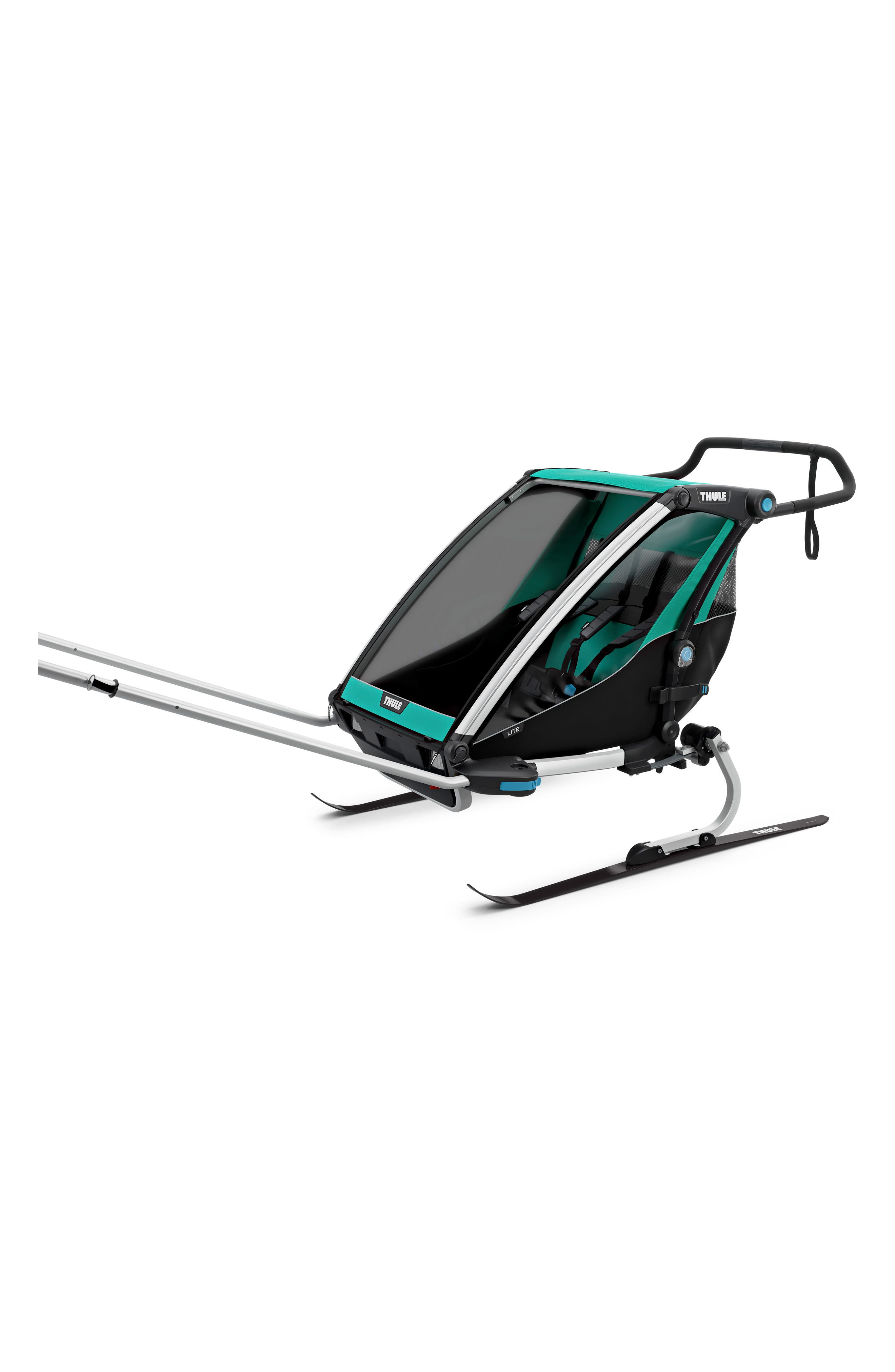 THULE,                             Chariot Lite 2 Multisport Double Cycle Trailer/Stroller,                             Alternate thumbnail 2, color,                             400