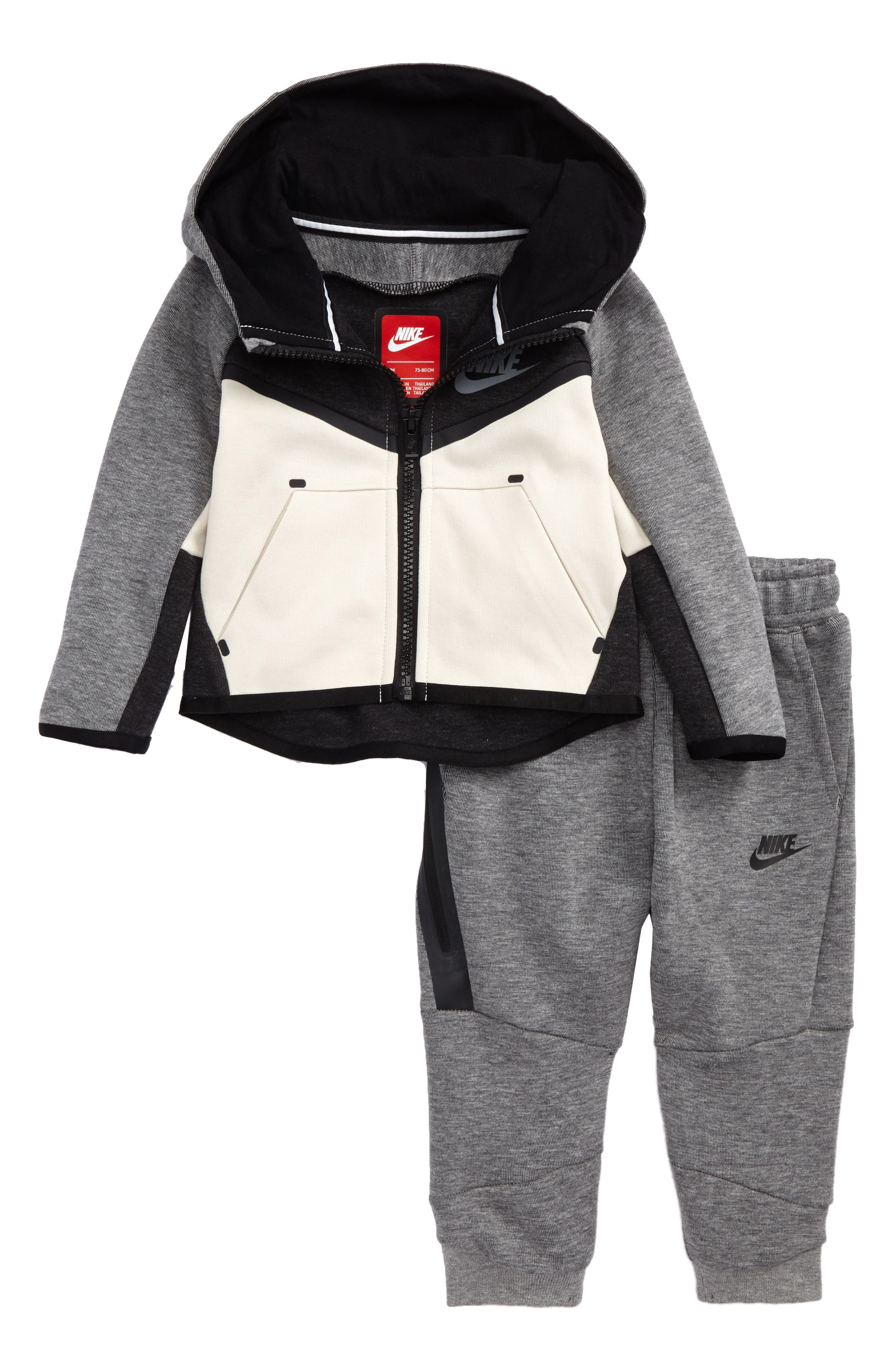 Infant Boys Nike Tech Fleece Hooded Jacket  Sweatpants Set