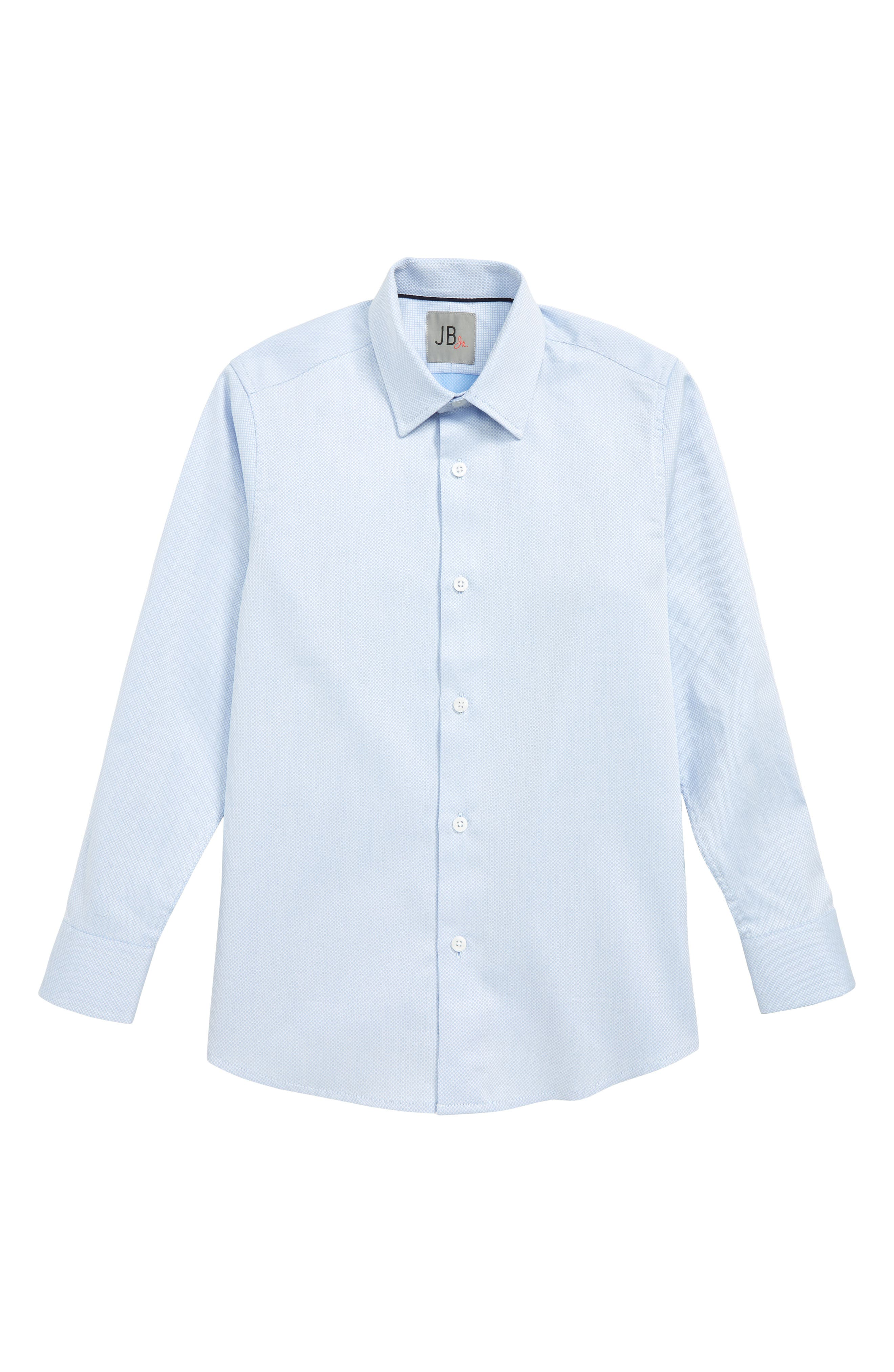 Textured Dress Shirt,                             Main thumbnail 1, color,                             BLUE