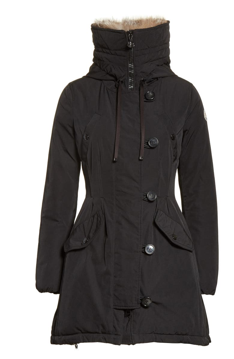 Moncler 'Arriette' Down Insulated Parka with Genuine Fox Fur Ruff | Nordstrom