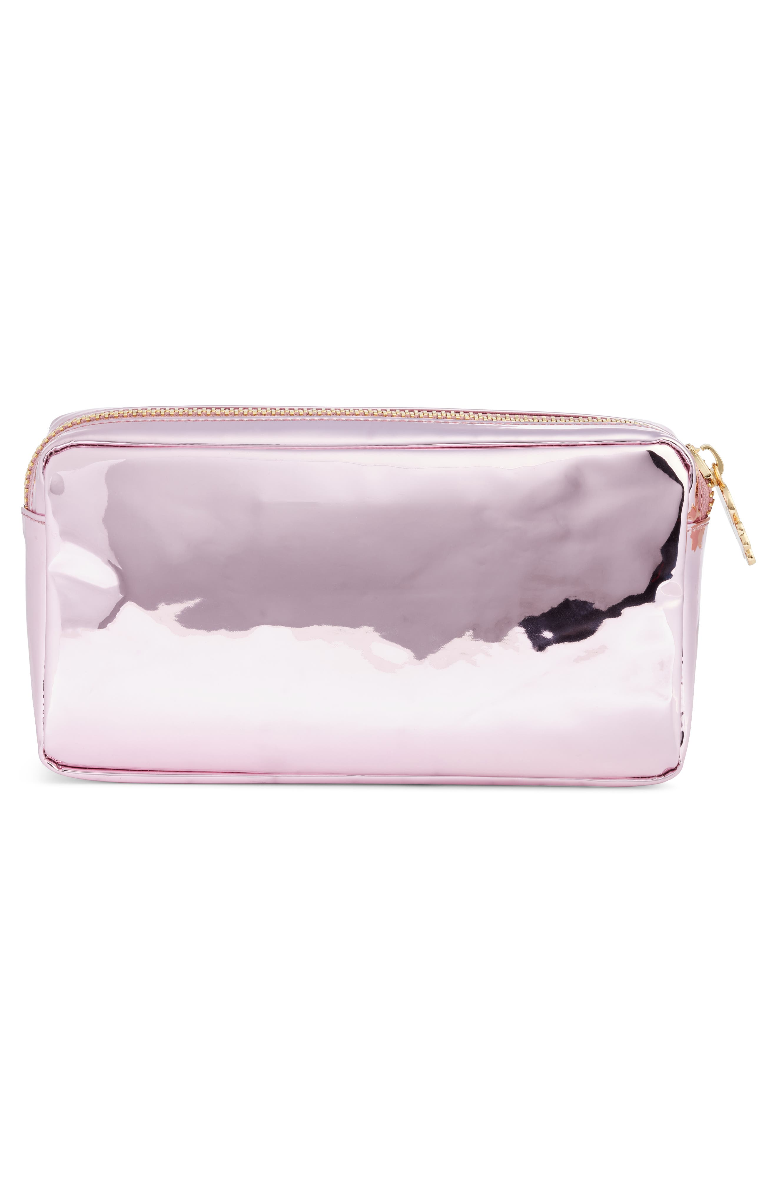 Small Patent Pouch,                             Alternate thumbnail 2, color,                             PINK