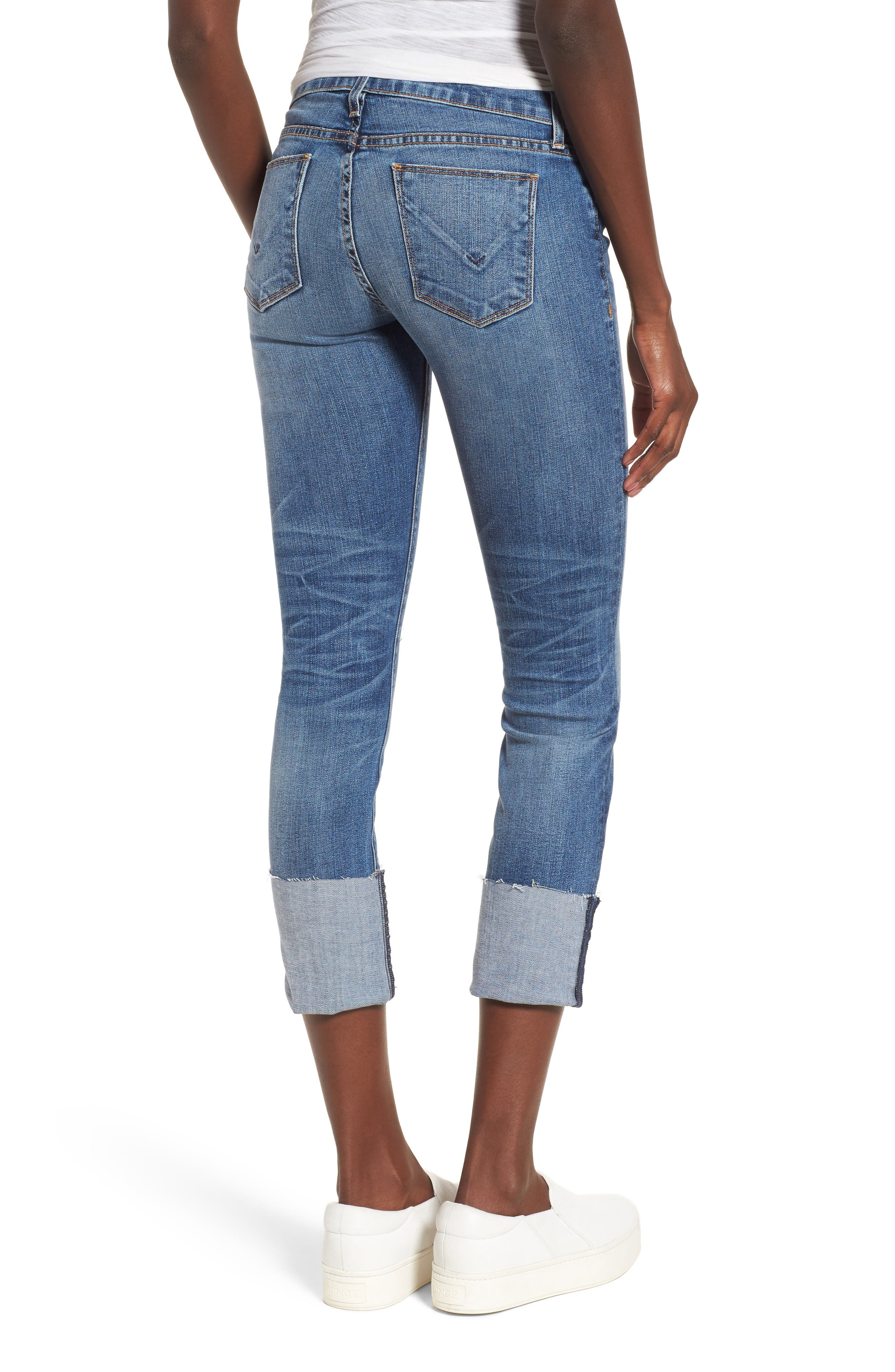 HUDSON JEANS,                             Tally Cuffed Crop Skinny Jeans,                             Alternate thumbnail 2, color,                             426