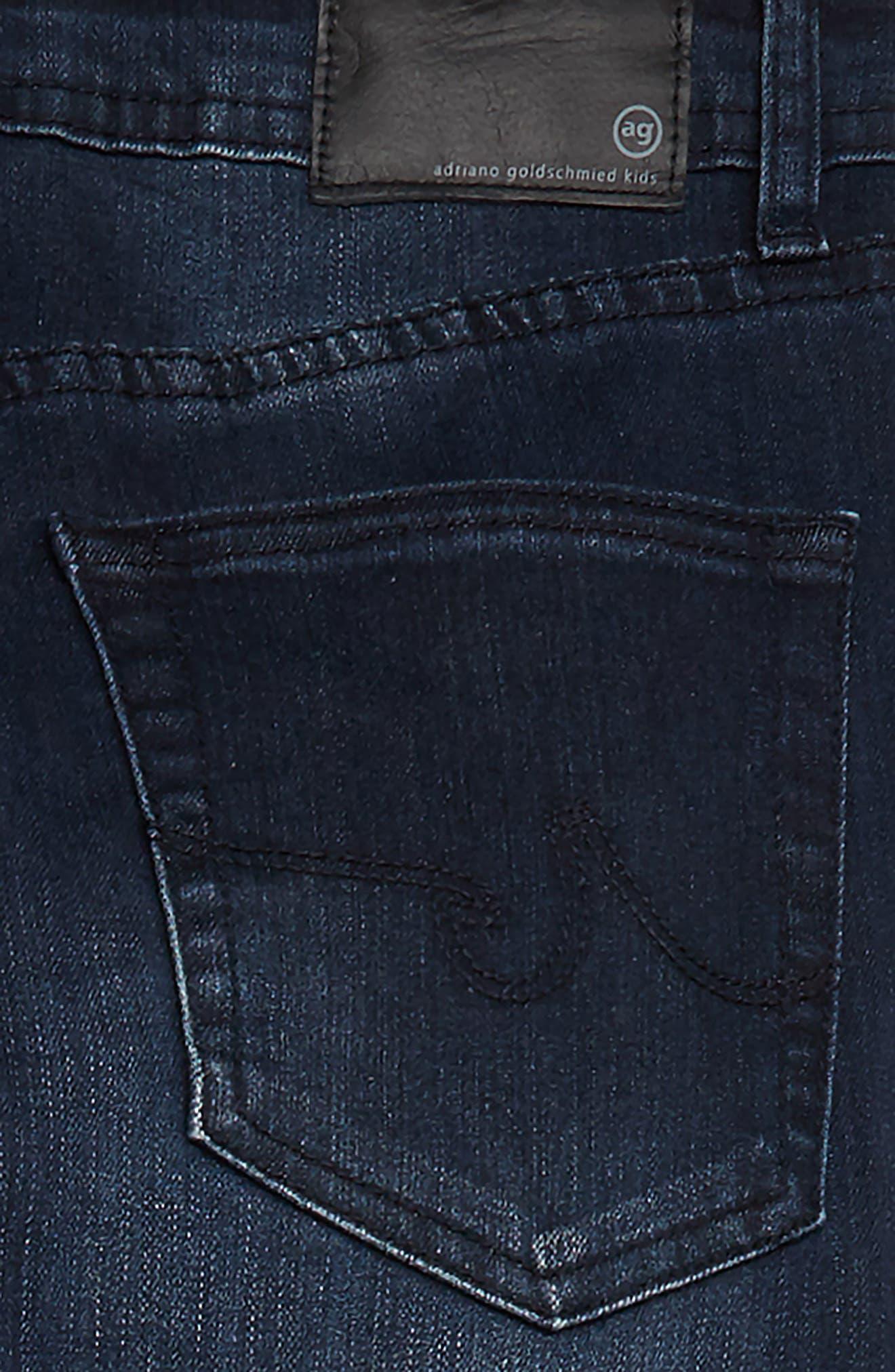 The Kingston Slim Jeans,                             Alternate thumbnail 3, color,                             DARK INDIGO SAND