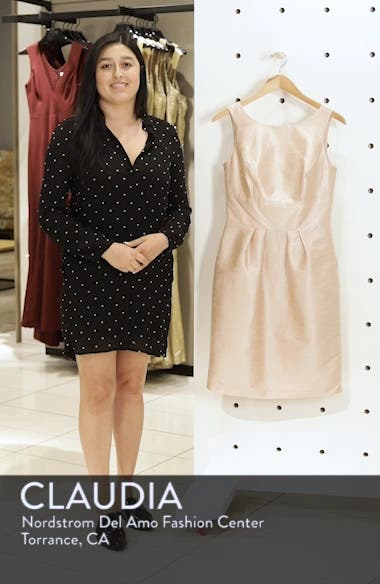 Boatneck Sheath Dress, sales video thumbnail