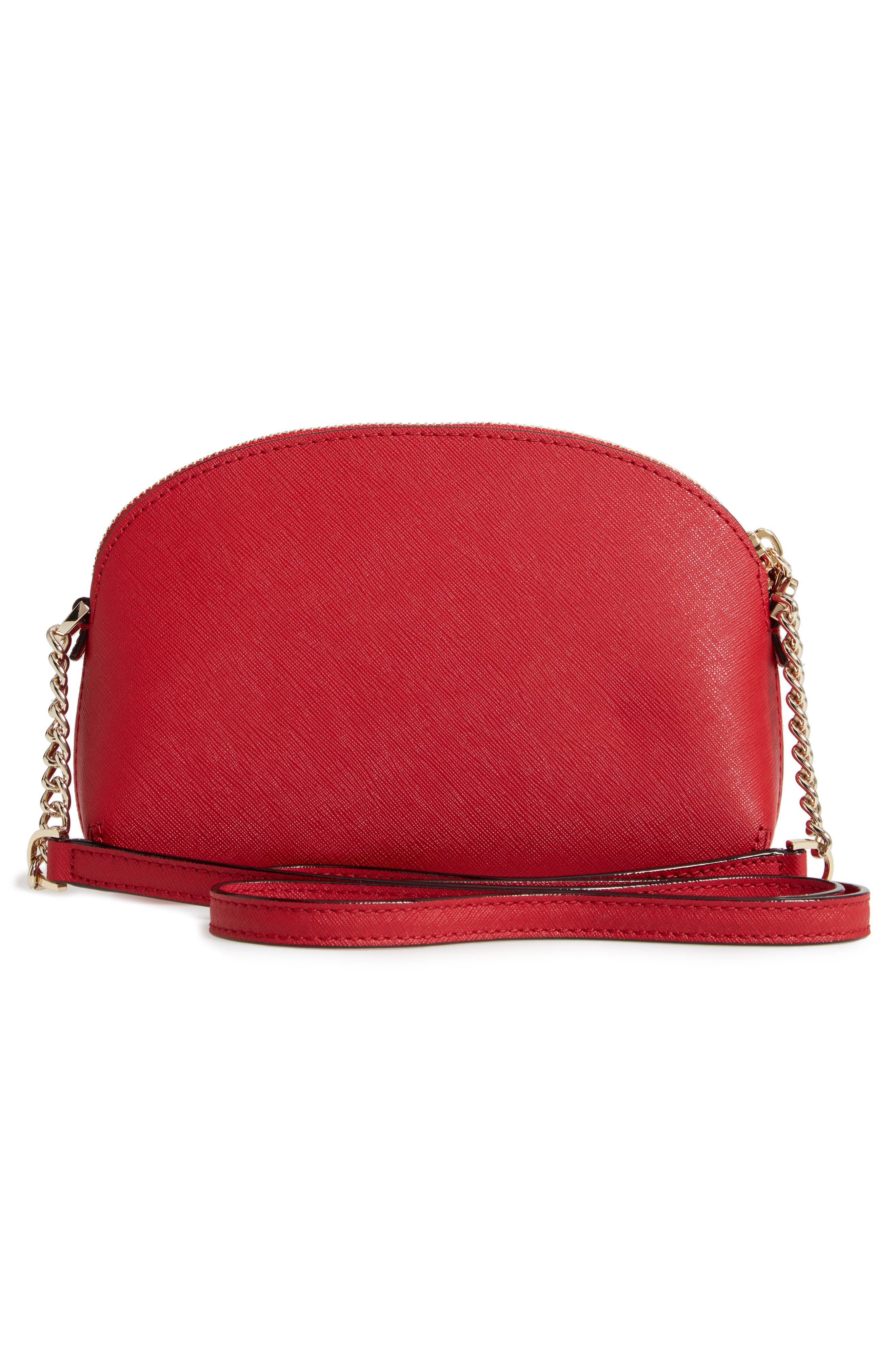 cameron street - hilli leather crossbody bag,                             Alternate thumbnail 3, color,                             600