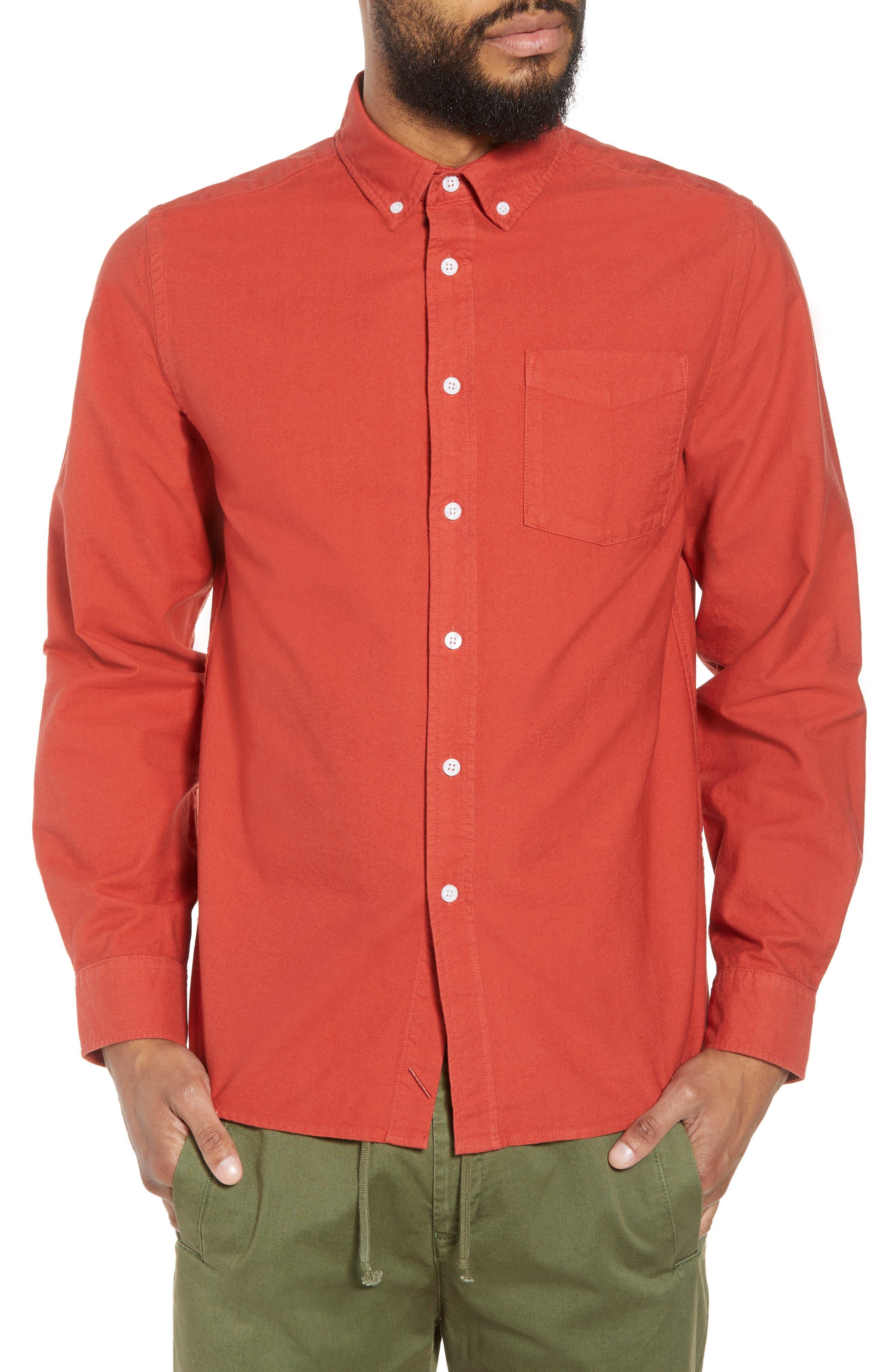 Crosby Oxford Woven Shirt,                             Main thumbnail 1, color,                             600