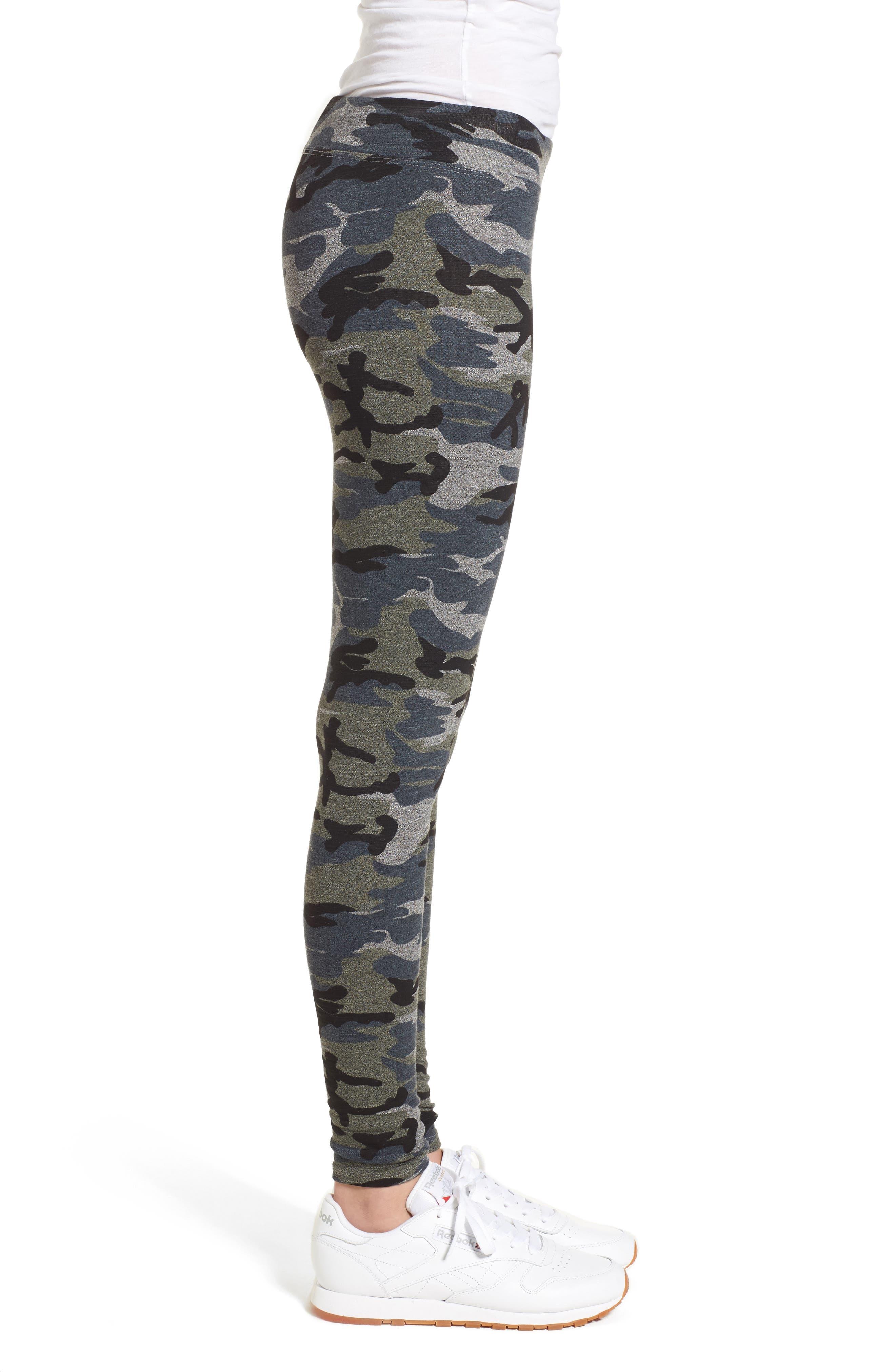 Camo Yoga Pants,                             Alternate thumbnail 7, color,