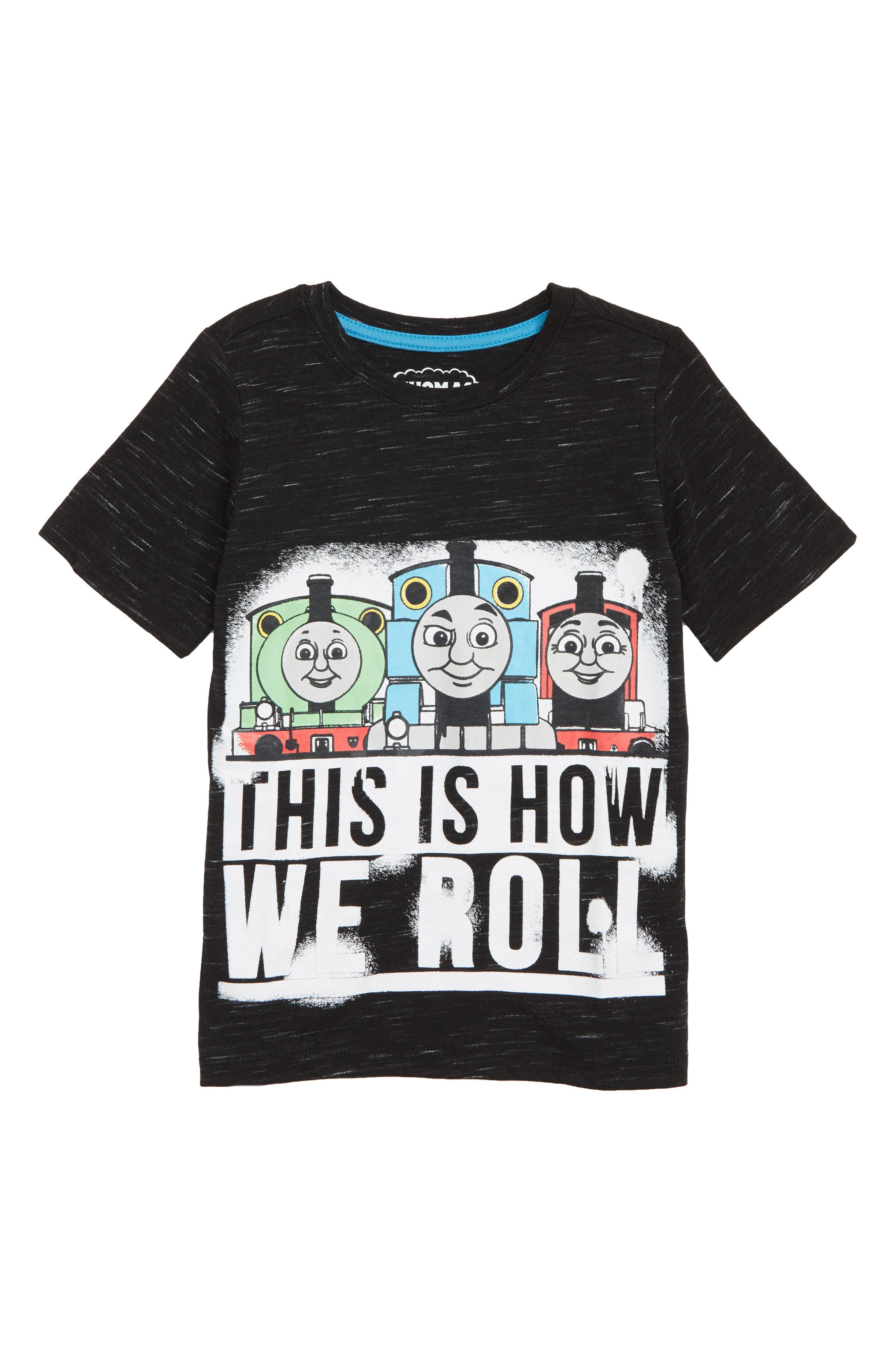 HAPPY THREADS Thomas & Friends Graphic T-Shirt, Main, color, 021