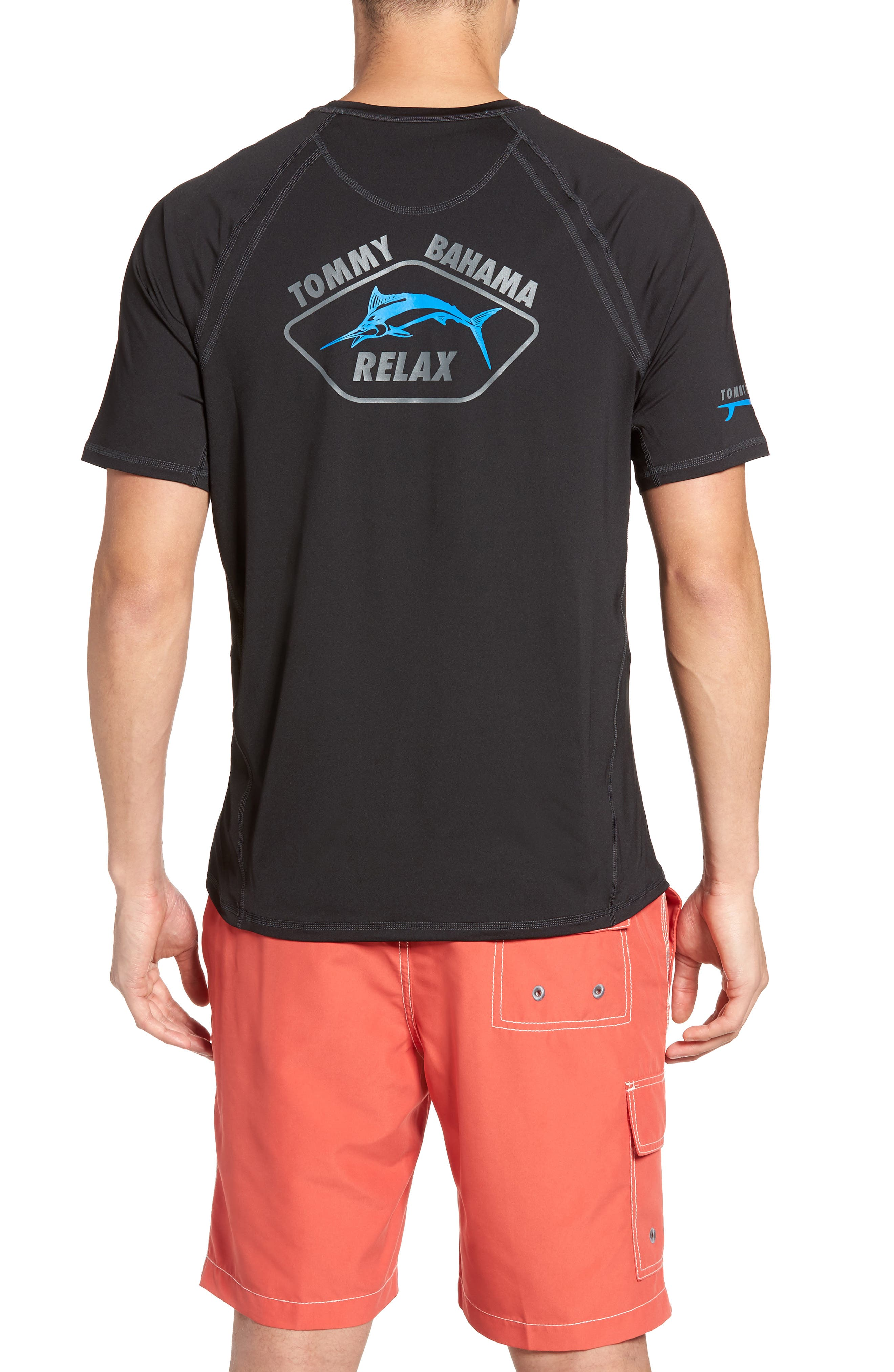 Surf City Graphic T-Shirt,                             Alternate thumbnail 2, color,                             001