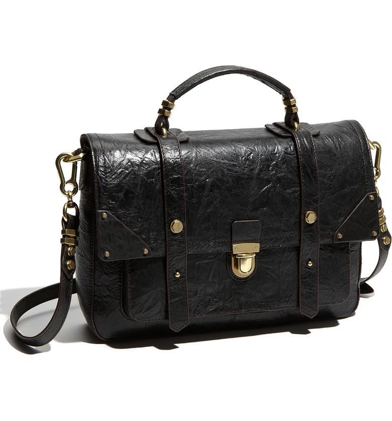 4cc1b5b6d946 Oryany Leather Flap Satchel