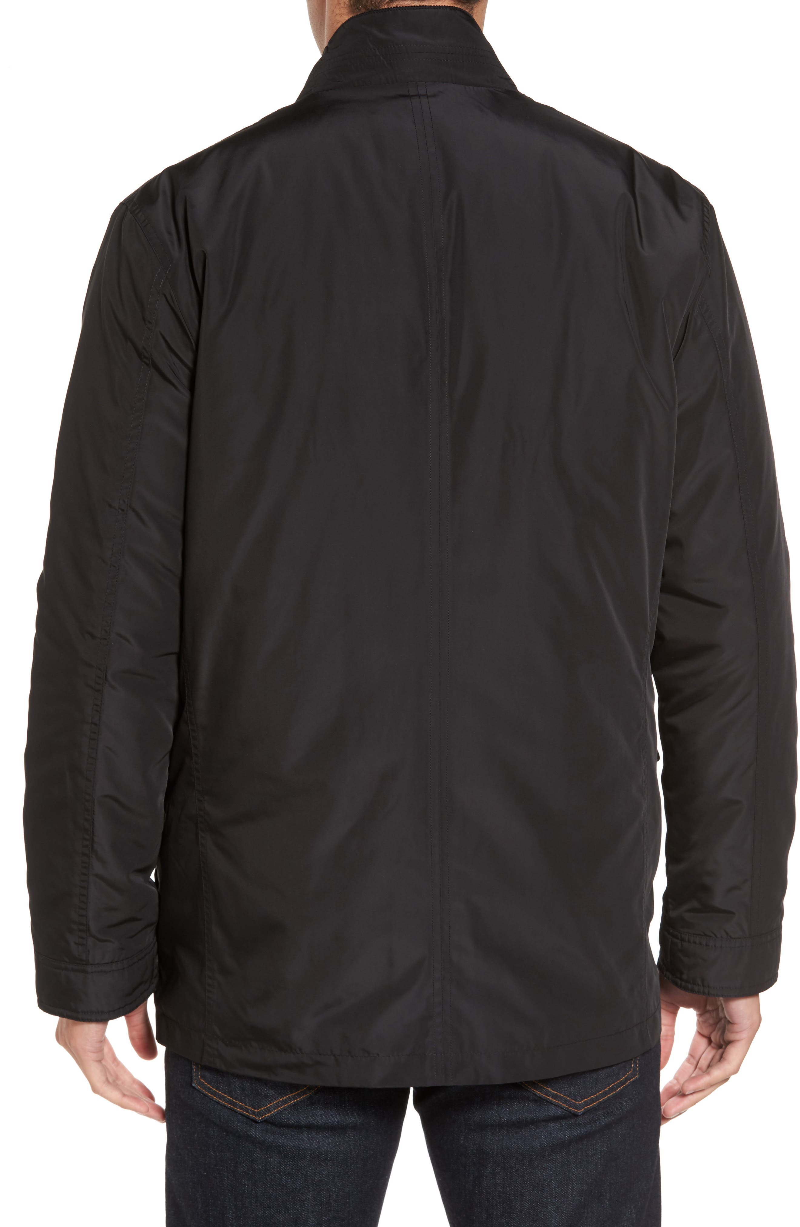 Coat with Removable Bomber Jacket,                             Alternate thumbnail 2, color,                             001