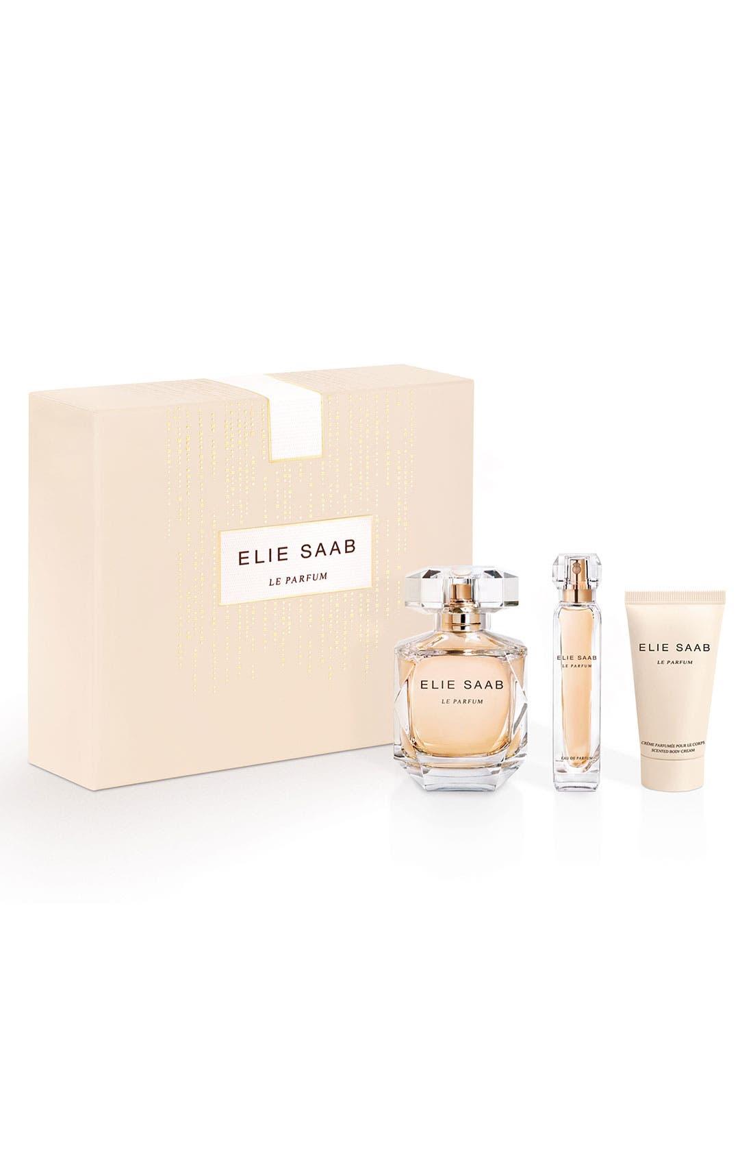 'Le Parfum' Eau de Parfum Gift Set,                             Main thumbnail 1, color,                             000