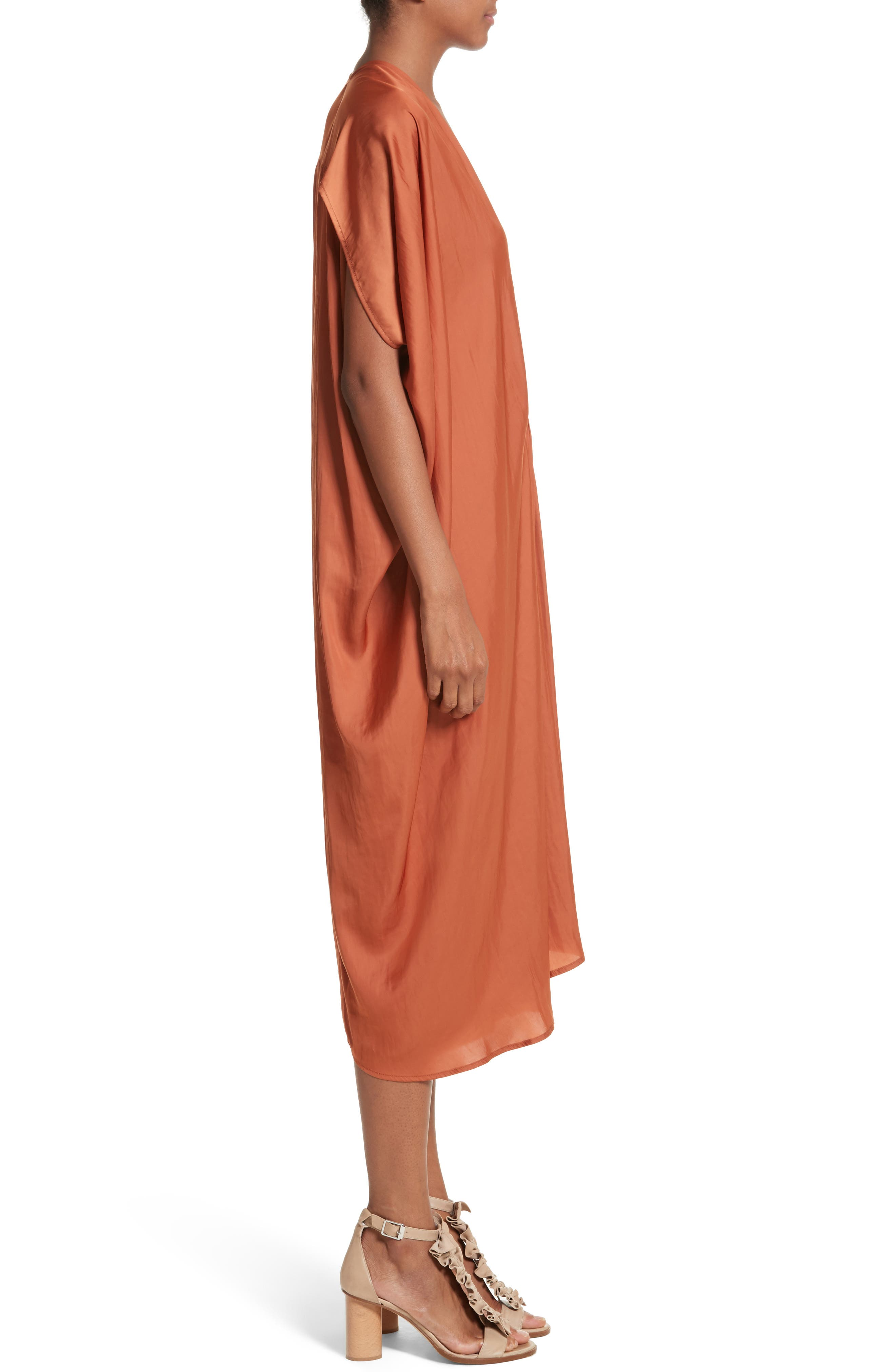 Drape Drift Dress,                             Alternate thumbnail 3, color,                             800