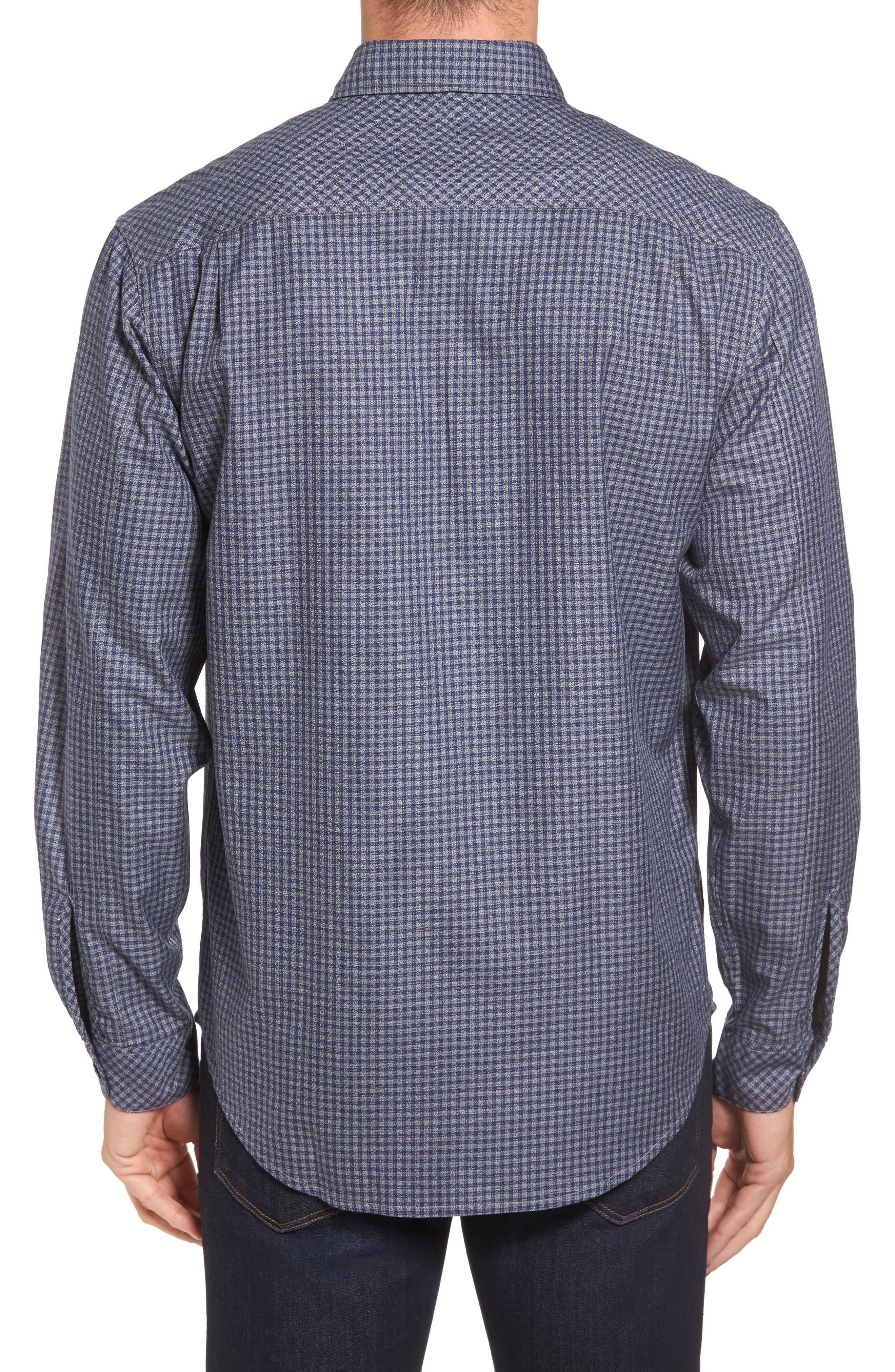Main Street Check Flannel Shirt,                             Alternate thumbnail 2, color,                             405