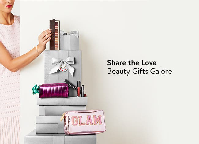 Share the love with beauty gifts galore.