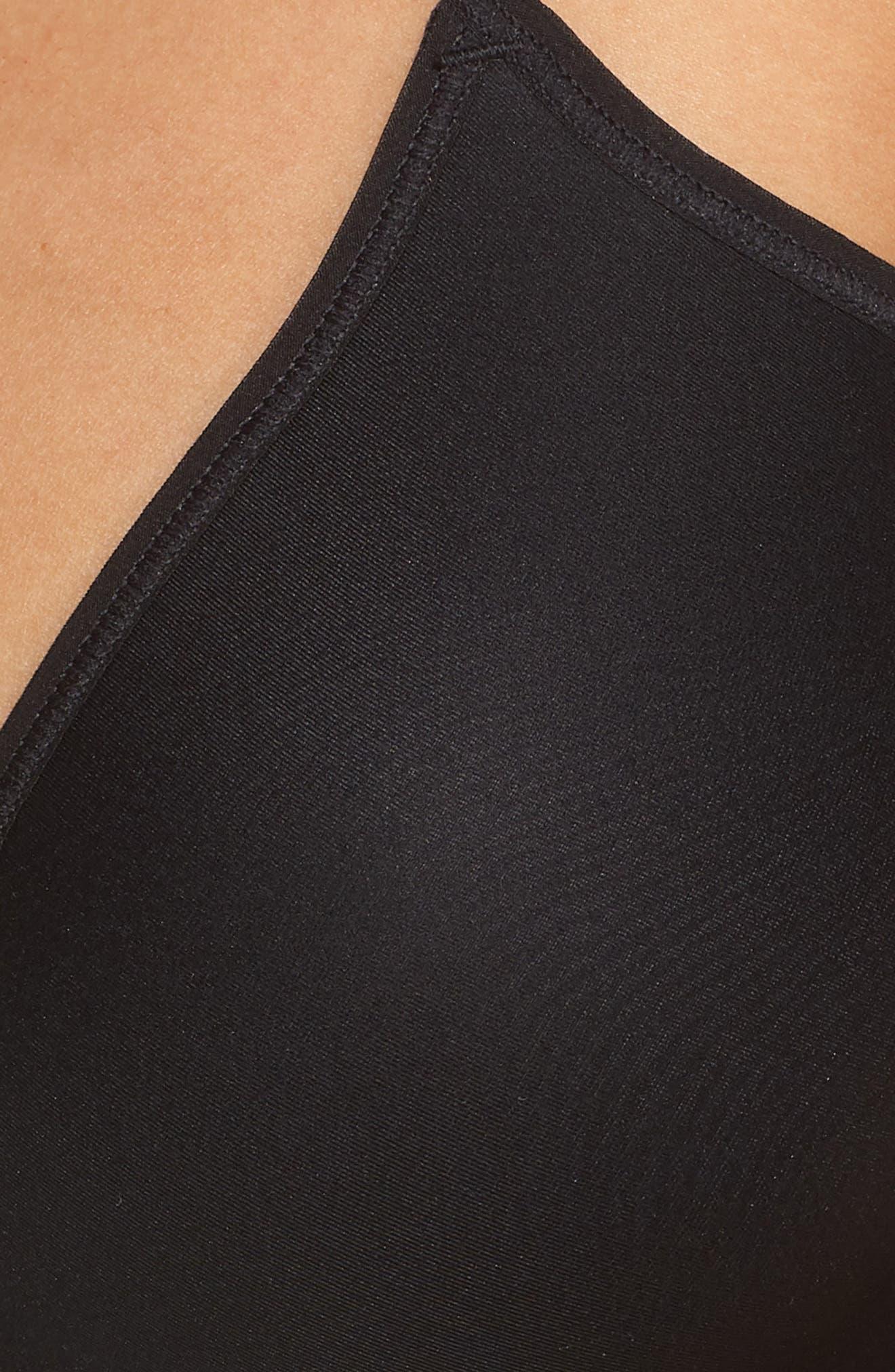 ON GOSSAMER,                             Next to Nothing Underwire T-Shirt Bra,                             Alternate thumbnail 6, color,                             BLACK