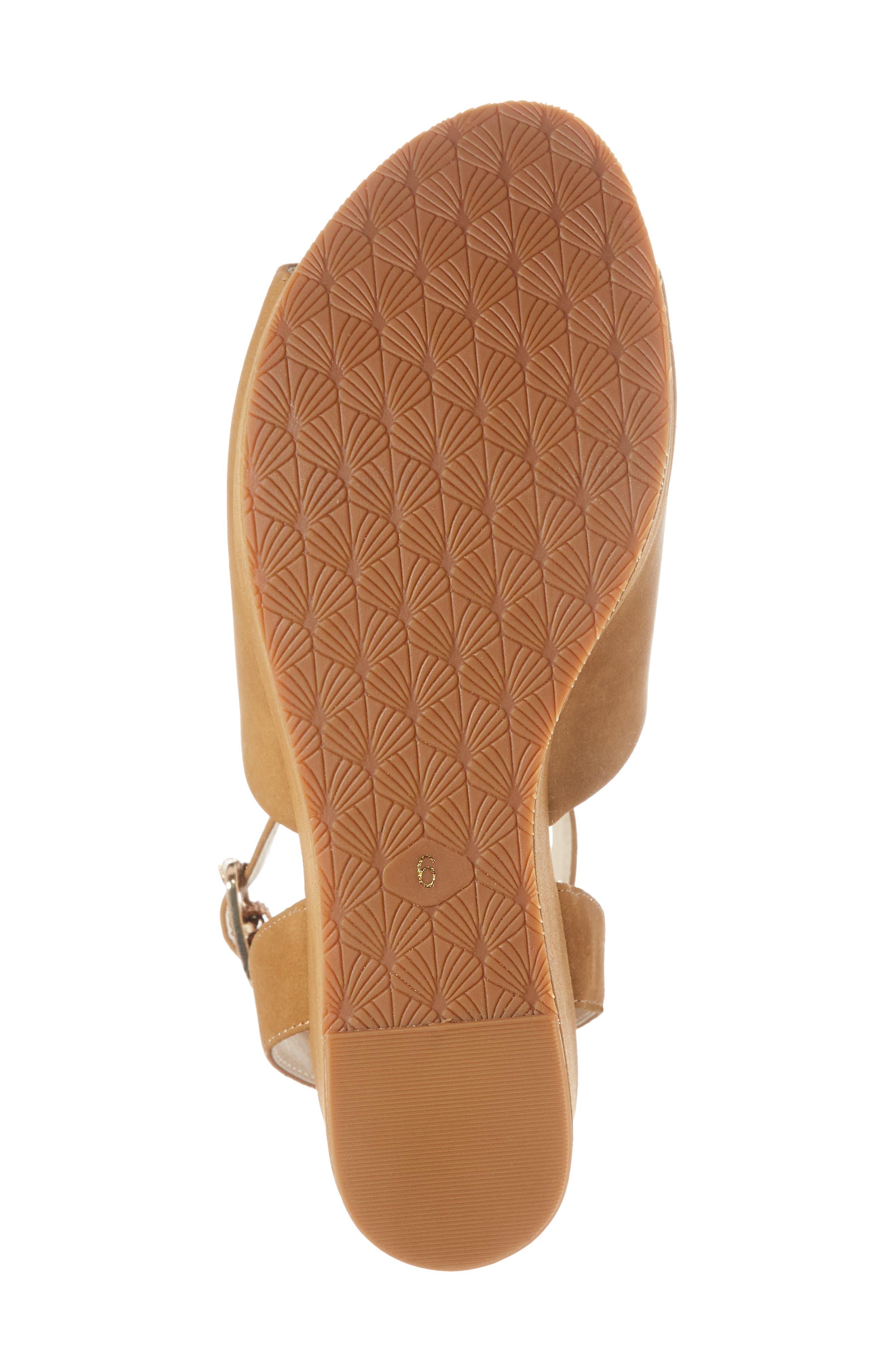 Admit One Platform Wedge Sandal,                             Alternate thumbnail 12, color,