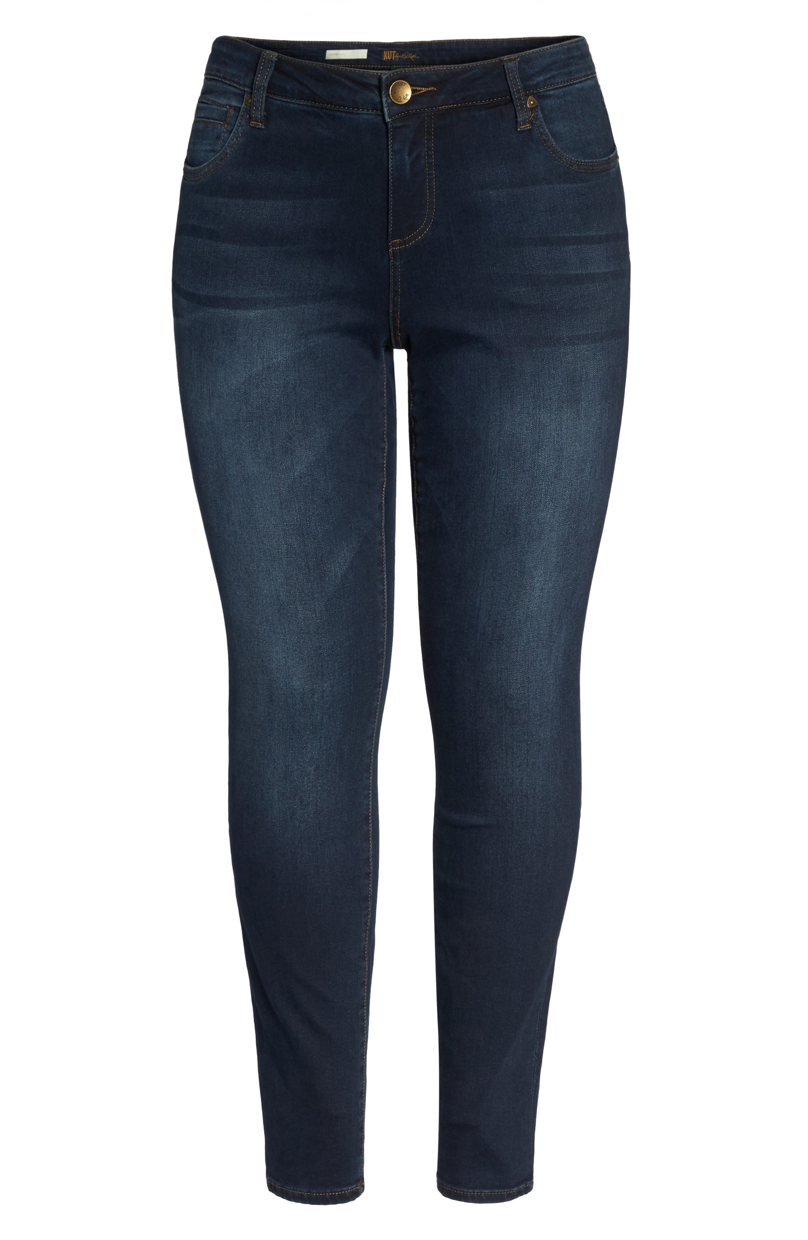 KUT FROM THE KLOTH,                             Diana Skinny Jeans,                             Alternate thumbnail 6, color,                             412